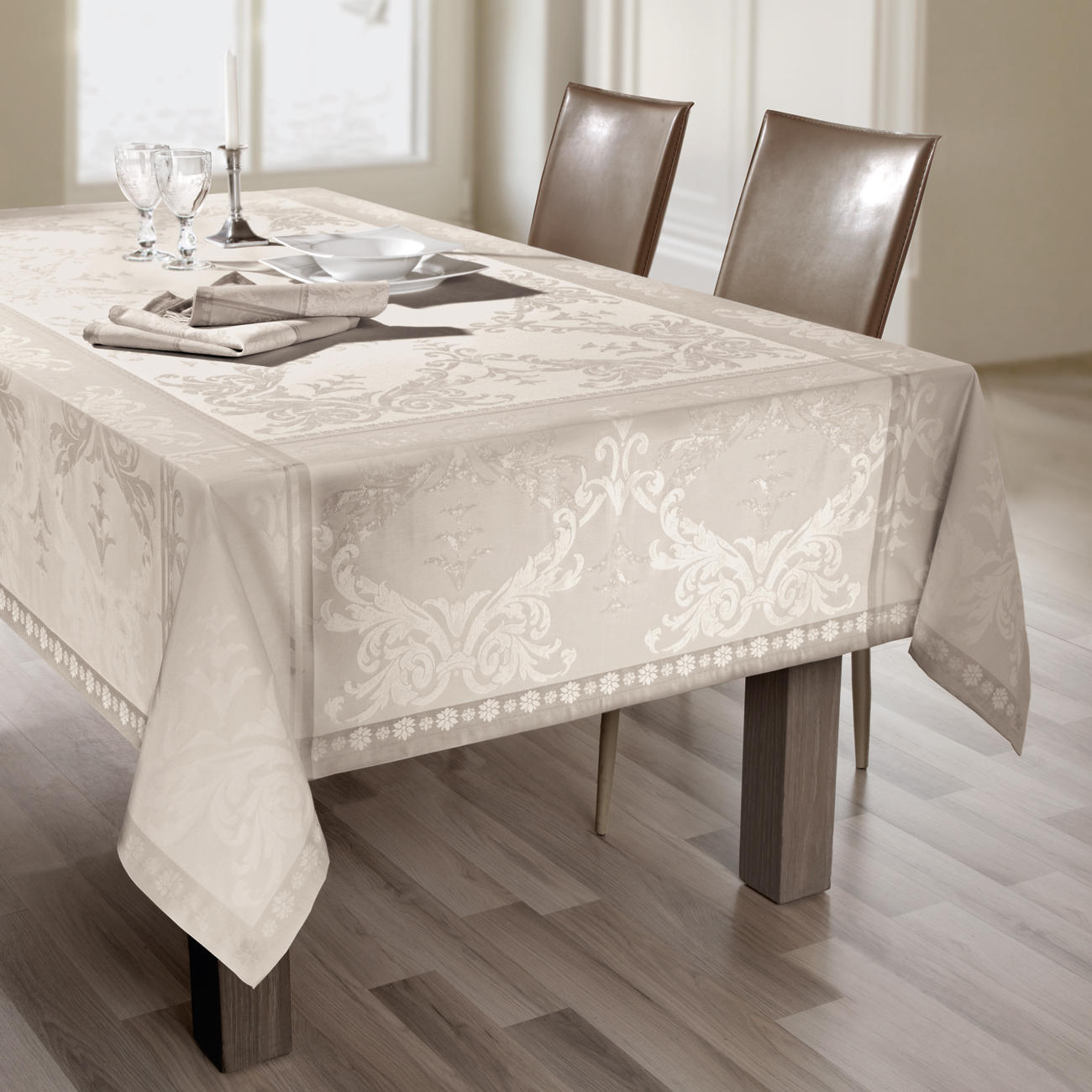 tischw sche shabby chic 3 jahre garantie pro idee. Black Bedroom Furniture Sets. Home Design Ideas