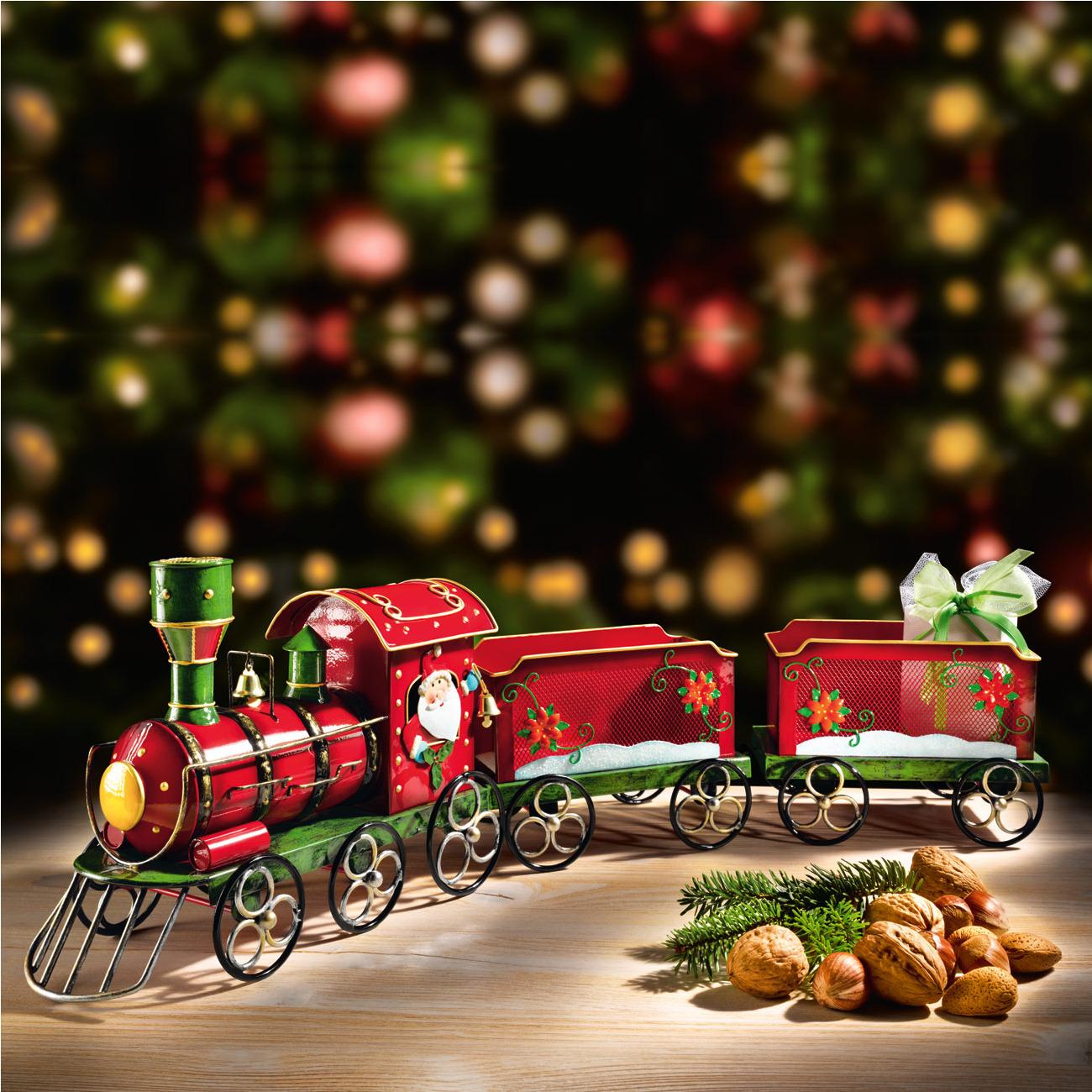 Nostalgischer Weihnachtszug – mit 3 Jahren Garantie