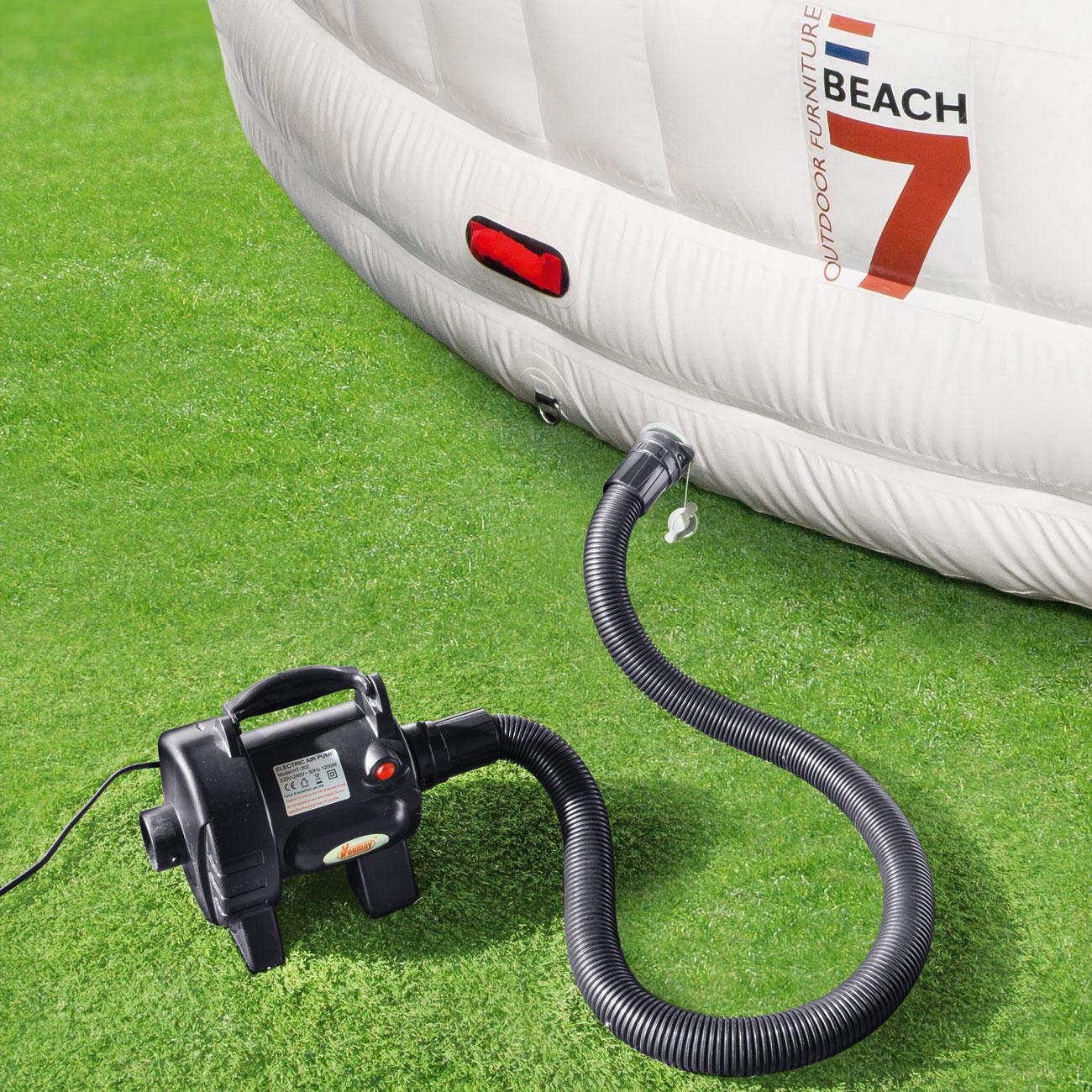 Die Pumpe Schließen Sie Einfach An Einer Steckdose (220 240 V) An.