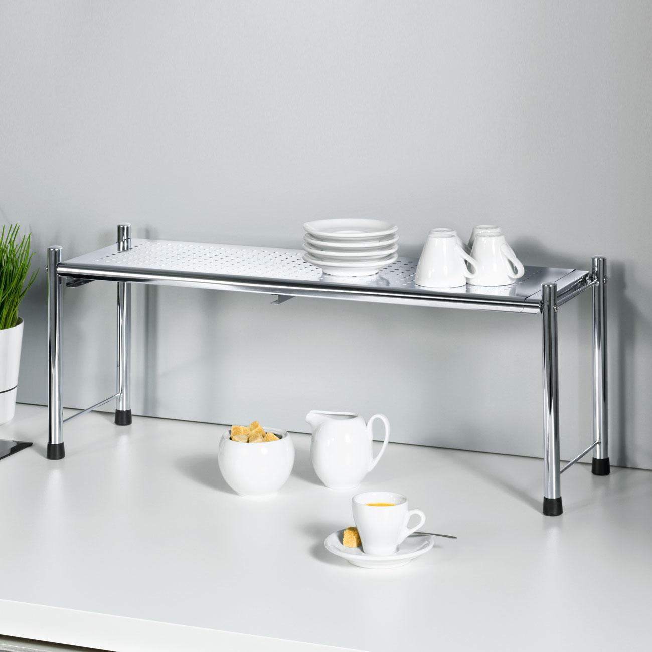 Wenko Spülbeckenregal Expando, Silber online kaufen