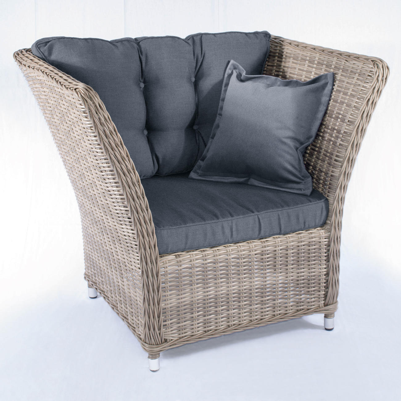polyrattan lounge m bel 3 jahre garantie pro idee. Black Bedroom Furniture Sets. Home Design Ideas