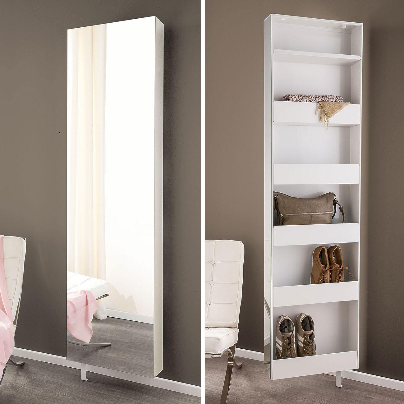 probell spiegel drehschrank mit 3 jahren garantie. Black Bedroom Furniture Sets. Home Design Ideas