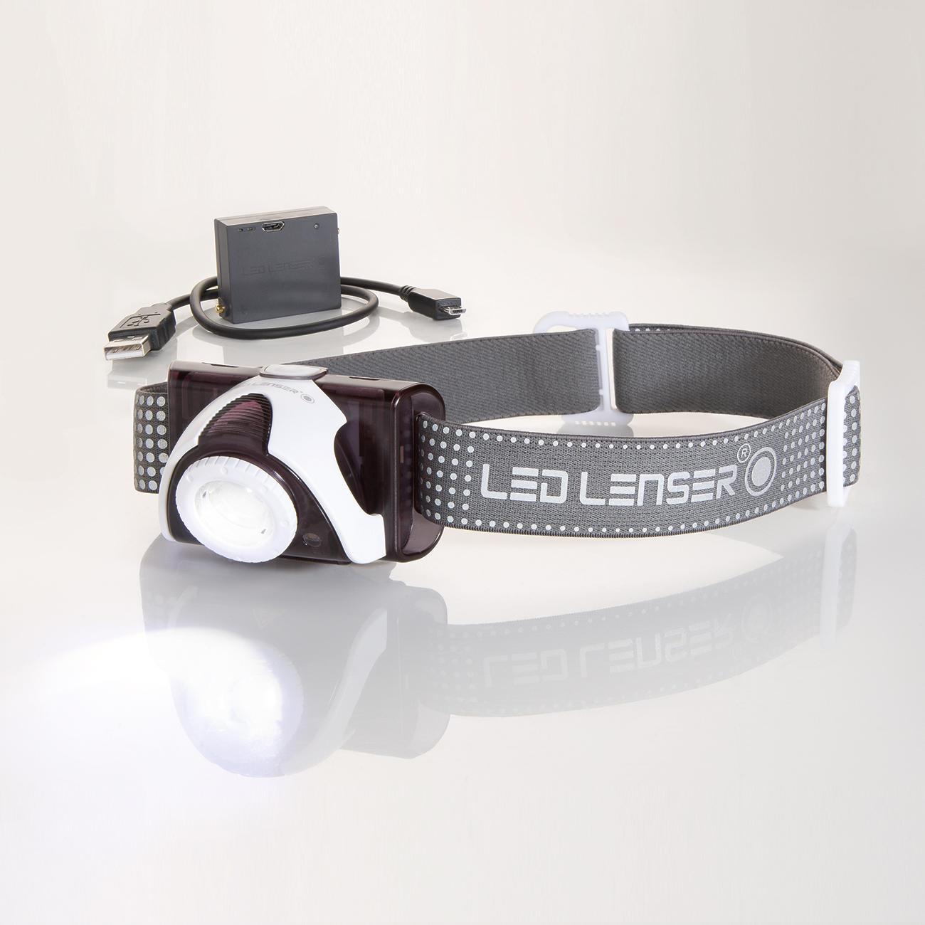 stirnlampe led lenser seo5r rechargeable online kaufen. Black Bedroom Furniture Sets. Home Design Ideas