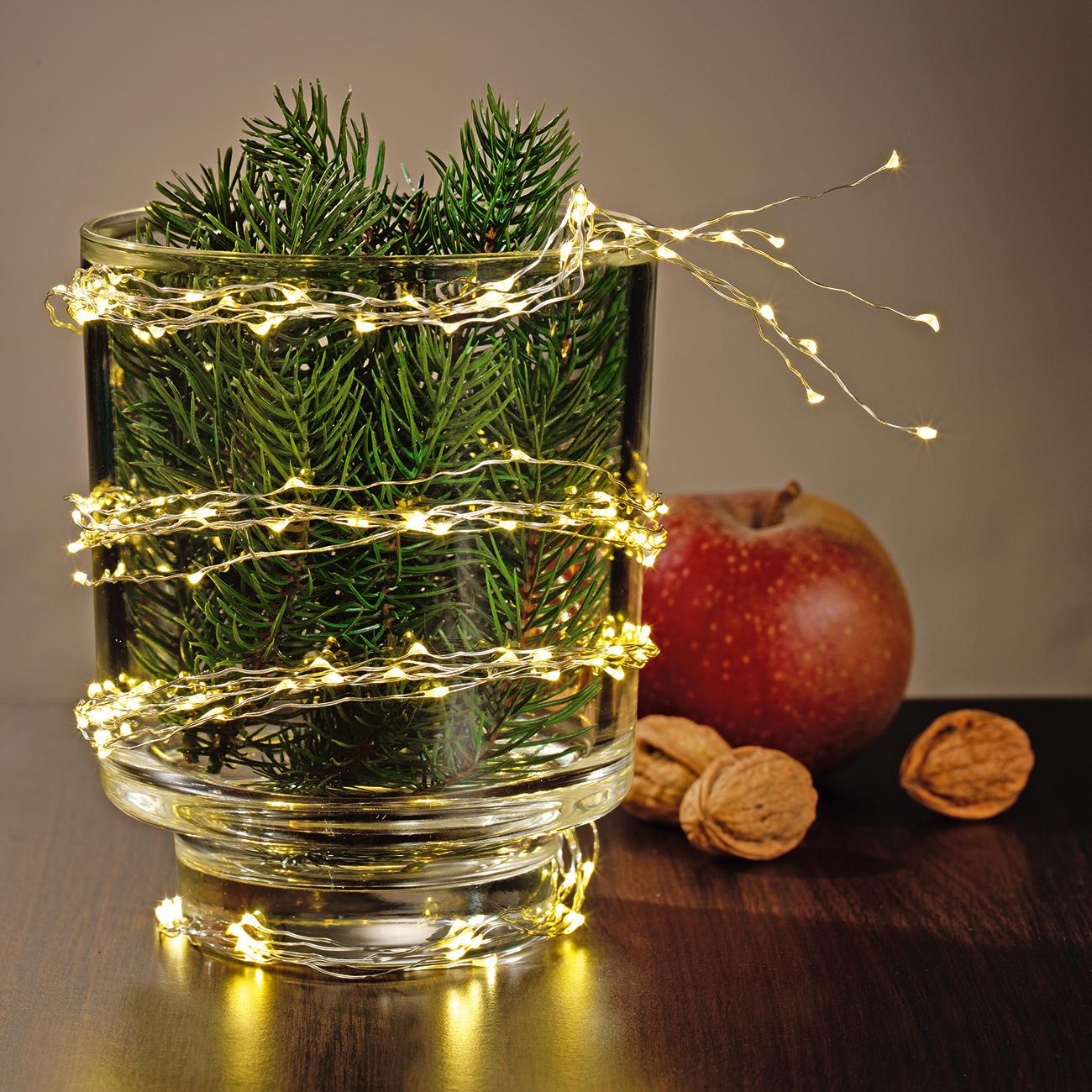 Weihnachtsbaum Engelshaar.Engelshaar Lichterkette 3 Jahre Garantie Pro Idee