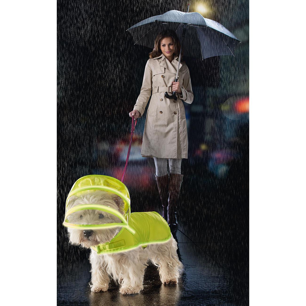 hunde regenmantel push pushi mit 3 jahren garantie. Black Bedroom Furniture Sets. Home Design Ideas