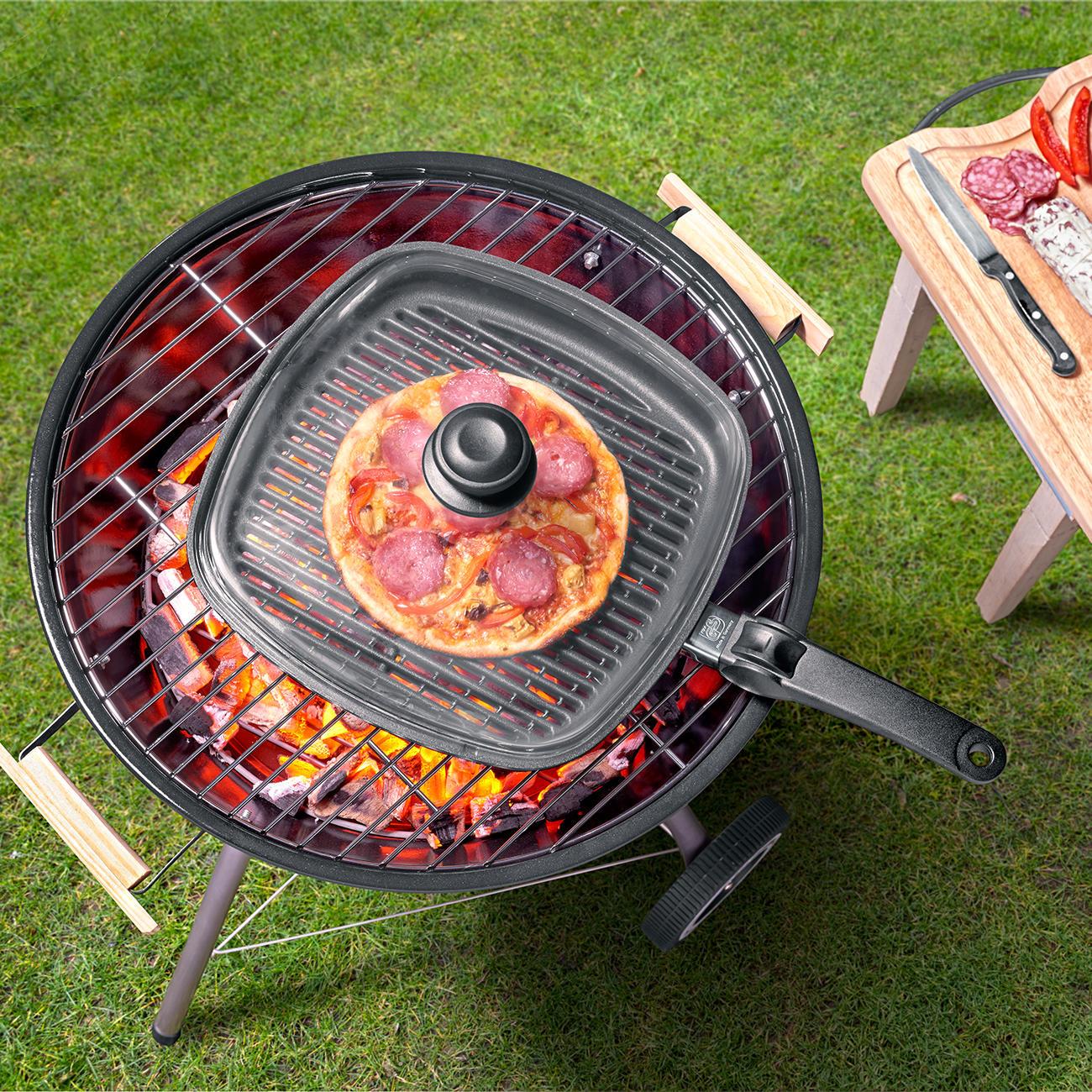 Pfanne Für Holzkohlegrill : grillrost pfanne bbq grillpfanne online kaufen ~ Watch28wear.com Haus und Dekorationen