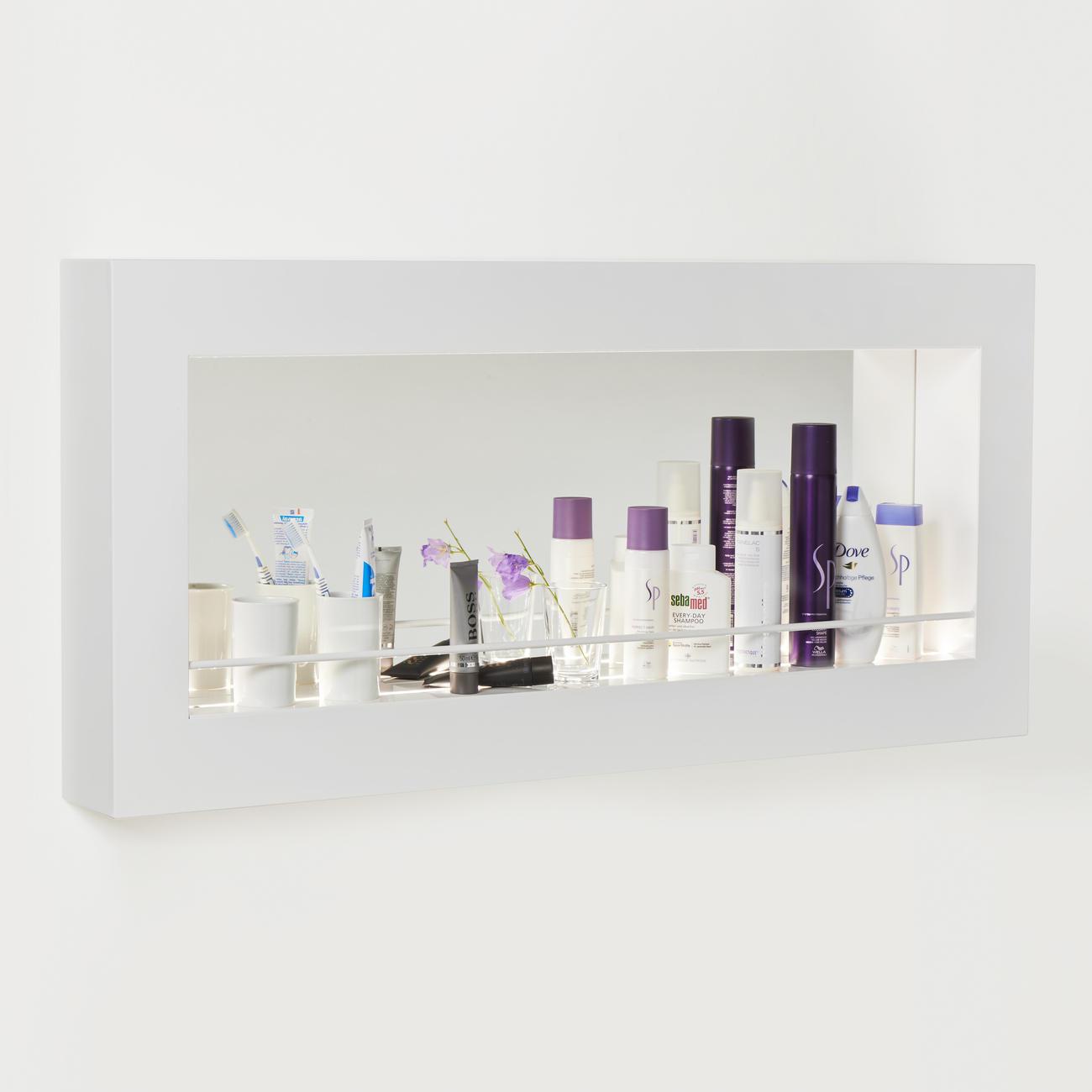 Led spiegel regal 3 jahre garantie pro idee - Spiegel mit regal ...