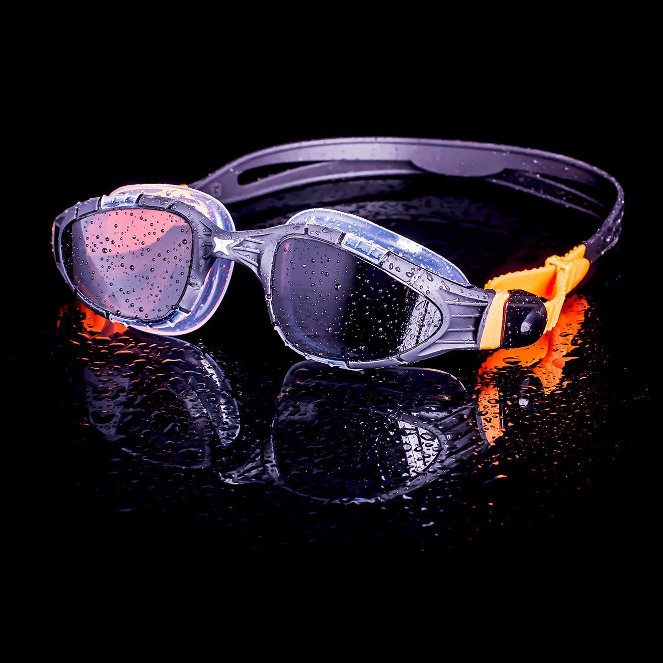 Zoggs Schwimmbrille AquaFlex™ Klare 180° Panorama-Sicht durch rahmenlose Gläser und optimierte Passform durch bewährte Flexpoint™-Technologie.