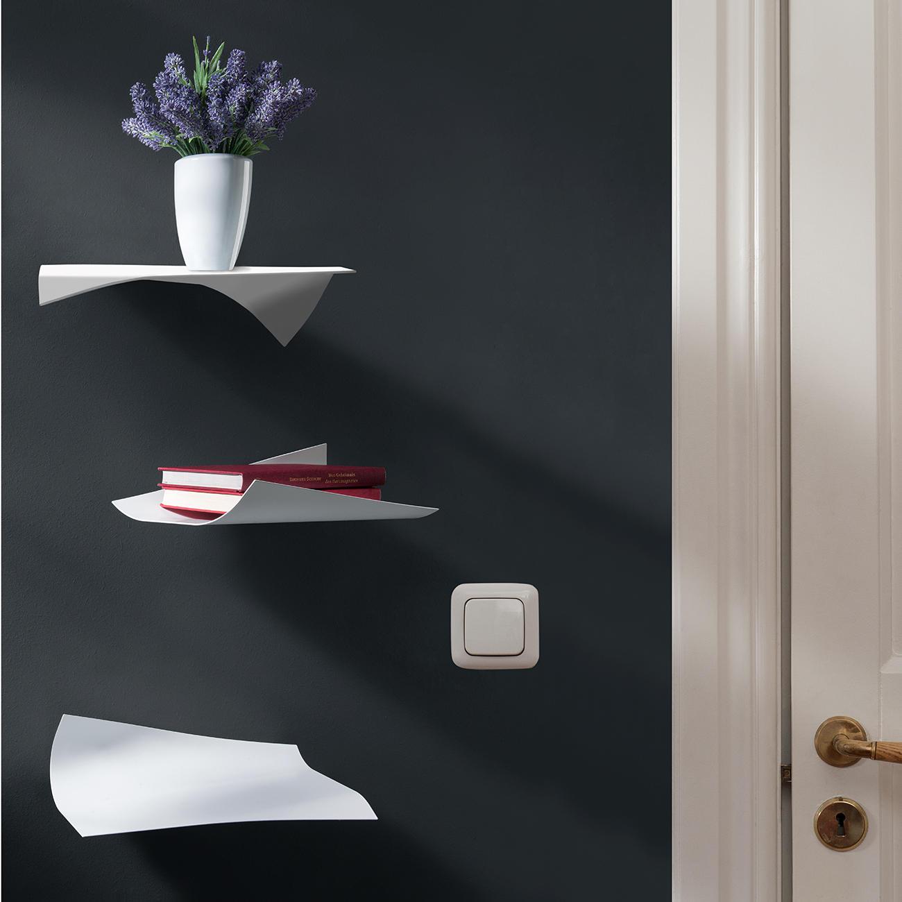 blow design wandregal 3er set mit 3 jahren garantie. Black Bedroom Furniture Sets. Home Design Ideas