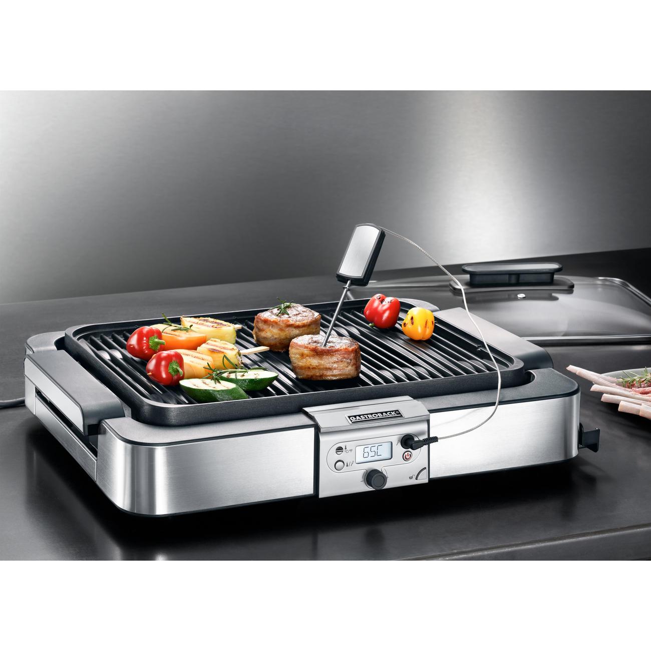 gastroback design tisch grill advanced tischgrill 42531