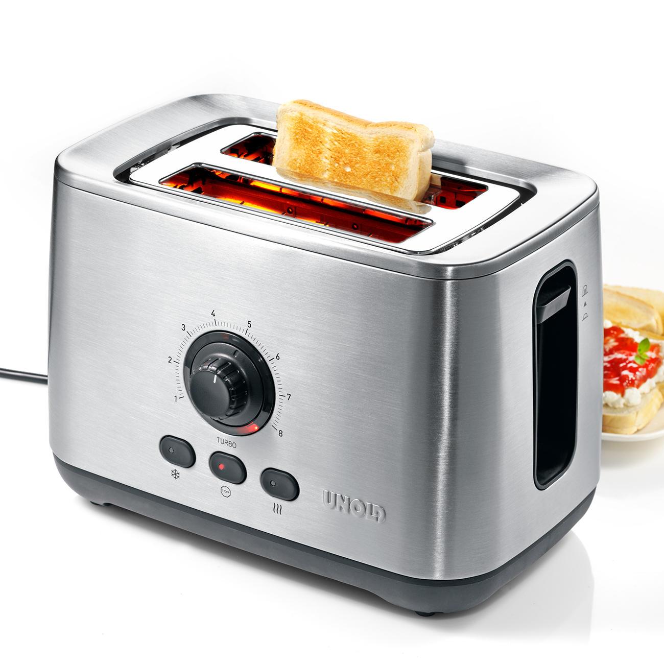 unold turbo toaster eco 3 jahre garantie pro idee. Black Bedroom Furniture Sets. Home Design Ideas