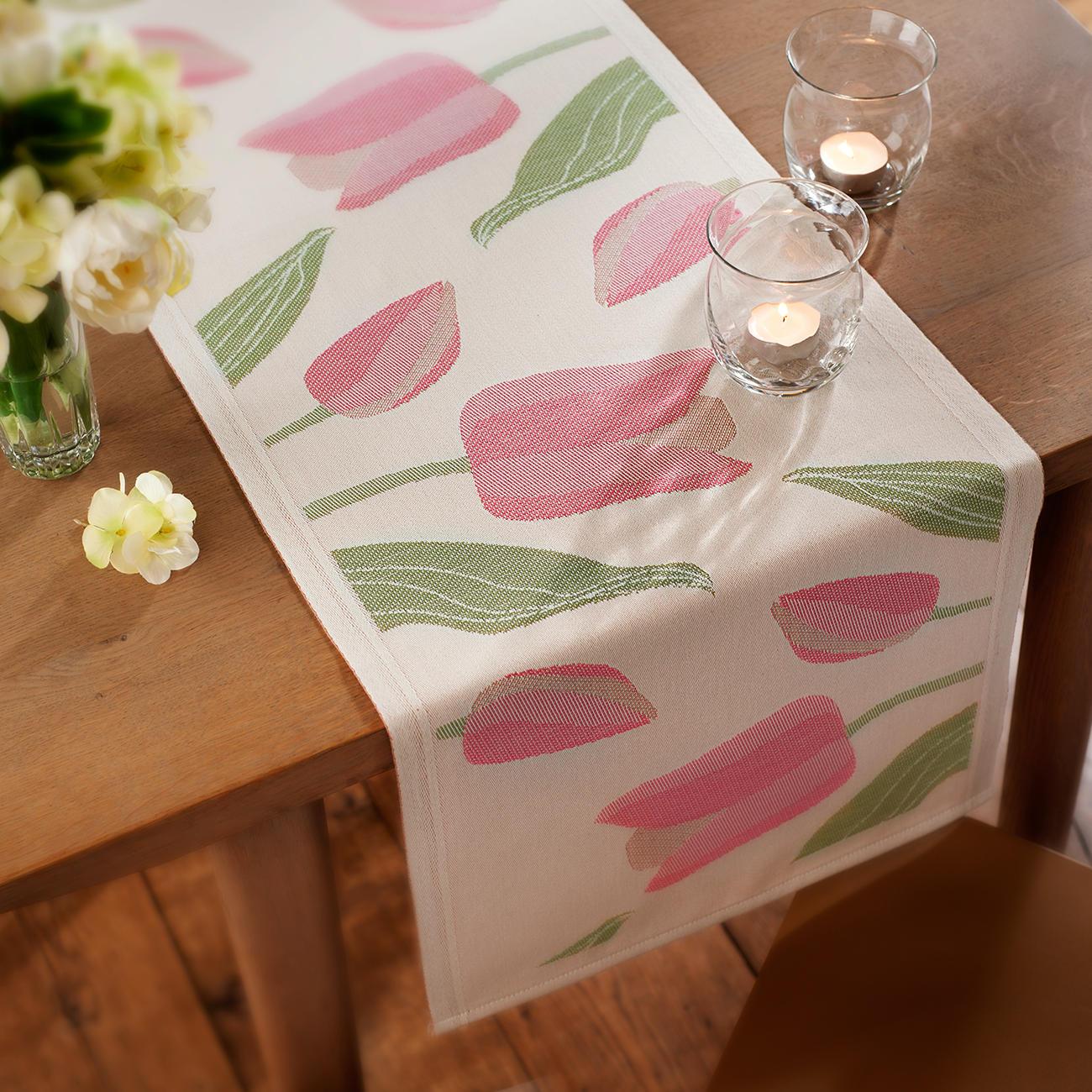 Ekelund Tischläufer Tulpen | 3 Jahre Garantie | Pro-Idee