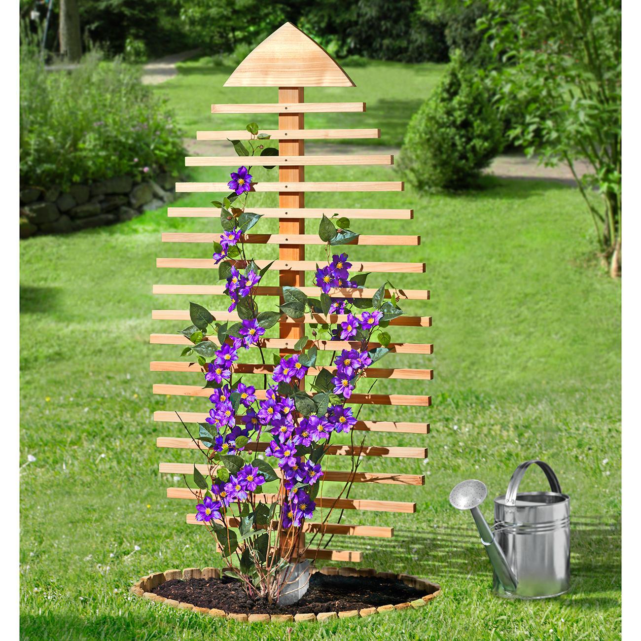Как сделать столбик из цветов