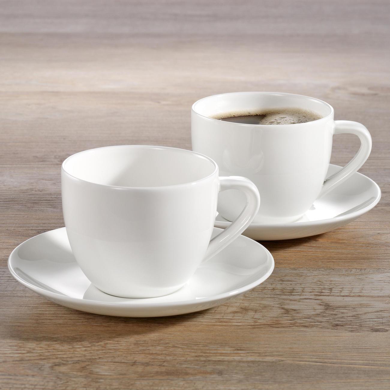 asa selection a table espressotasse mit untersetzer 70 ml 6 cm durchmesser 4 5 cm h. Black Bedroom Furniture Sets. Home Design Ideas
