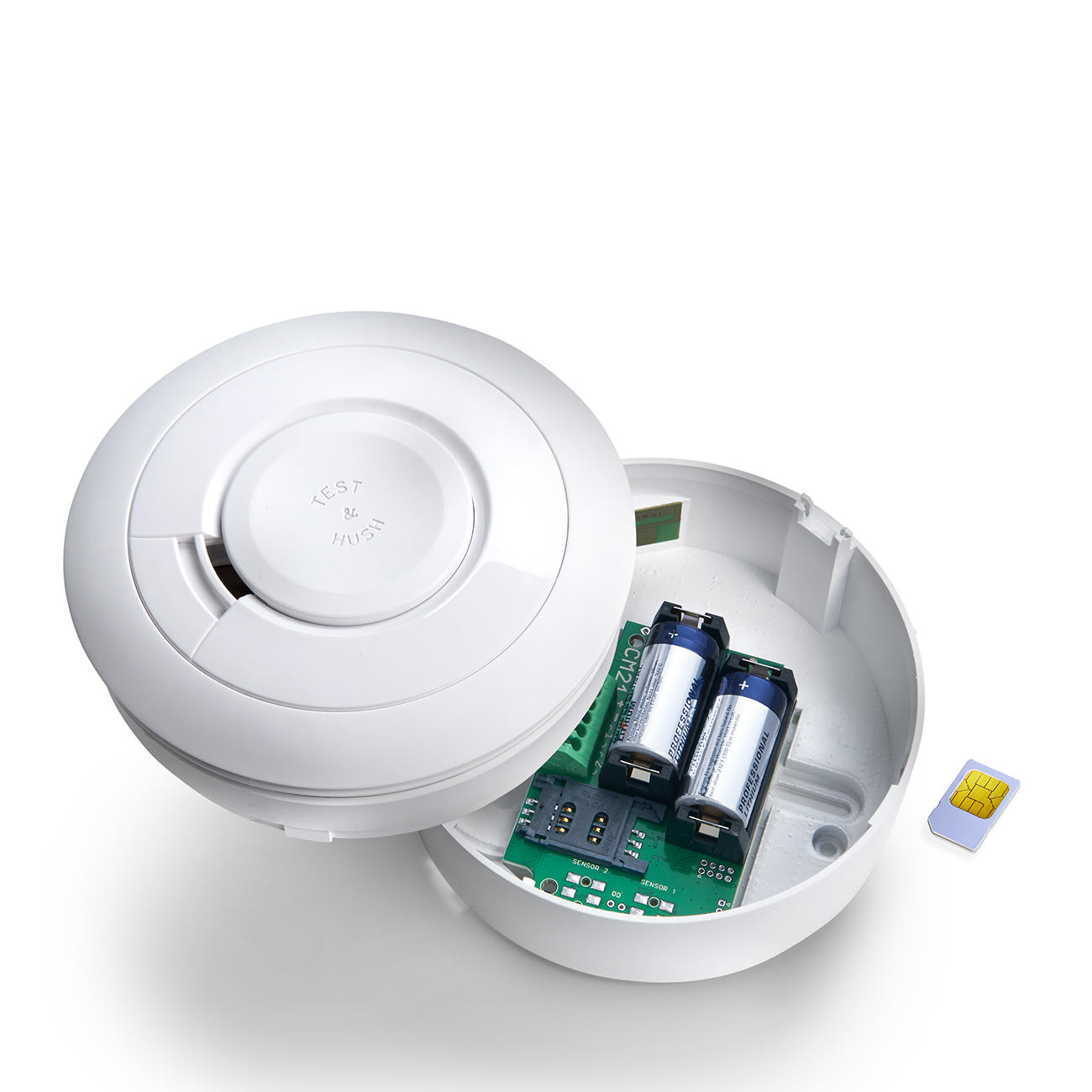 mobeye gsm smoke detector rauchmelder informiert per sms oder anruf. Black Bedroom Furniture Sets. Home Design Ideas