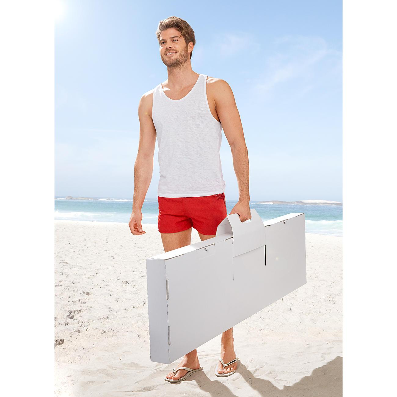 kickpack kartoni pappkicker karton wei online kaufen. Black Bedroom Furniture Sets. Home Design Ideas