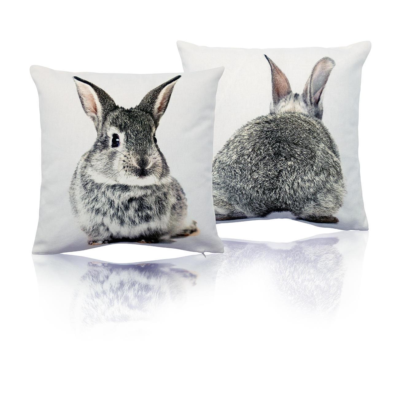 mars more wendekissen hase 33 x 33 cm online kaufen. Black Bedroom Furniture Sets. Home Design Ideas