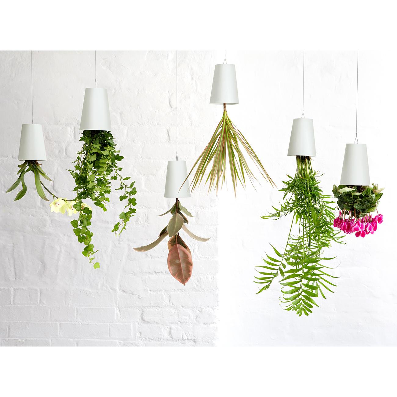 boskke blumentopf sky planter recycled gr s wei. Black Bedroom Furniture Sets. Home Design Ideas