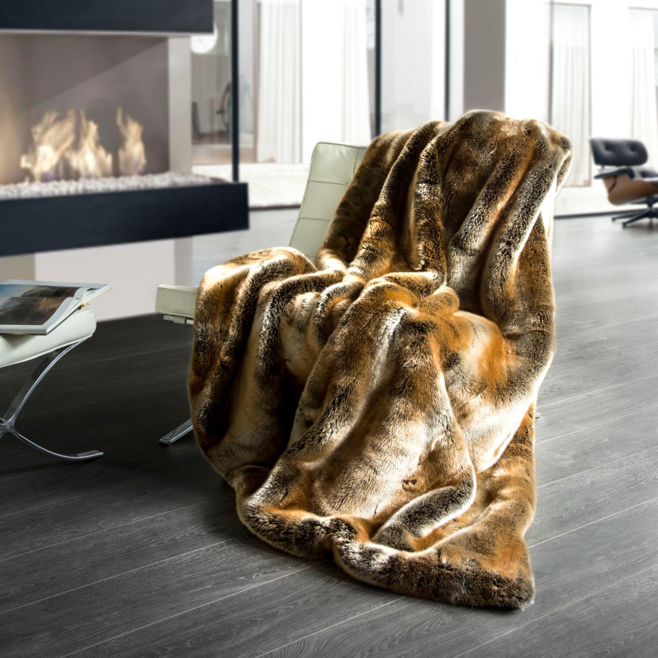 zobel webpelzdecke plaid 150 x 200 cm online kaufen. Black Bedroom Furniture Sets. Home Design Ideas