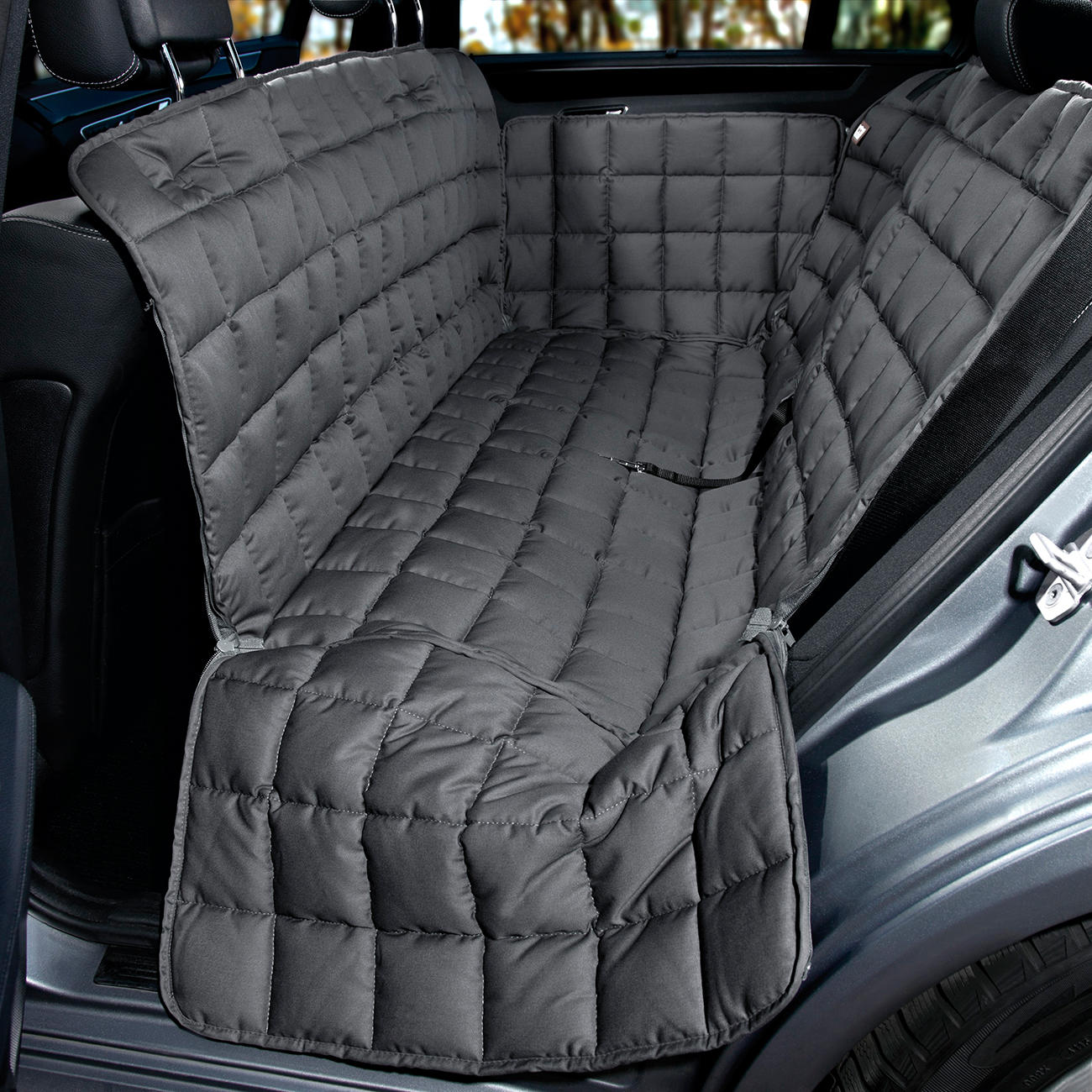doctor bark autoschondecke hundedecke f r r ckbank 4 t rer. Black Bedroom Furniture Sets. Home Design Ideas