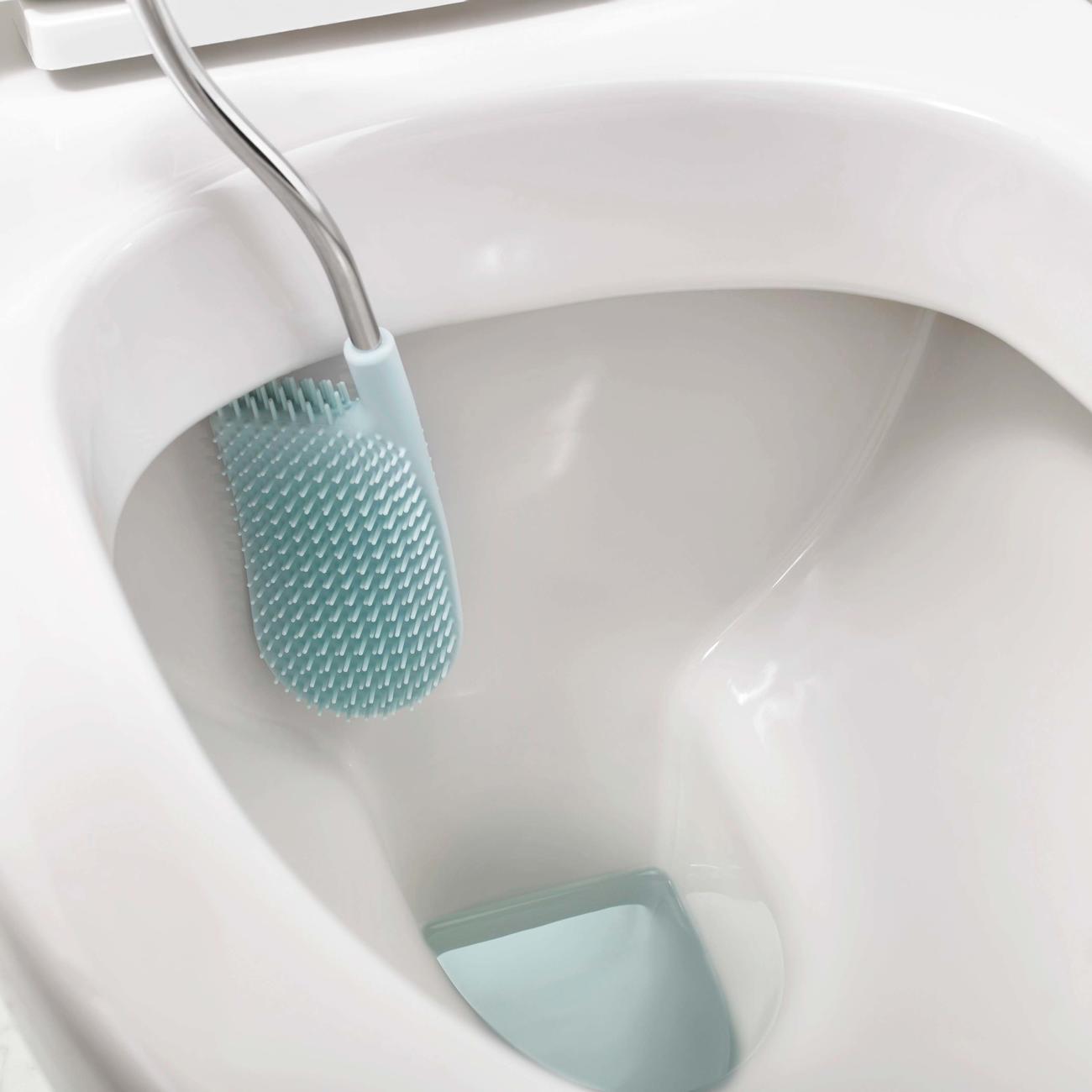 joseph joseph wc b rste toilettenb rste flex smart wei blau. Black Bedroom Furniture Sets. Home Design Ideas