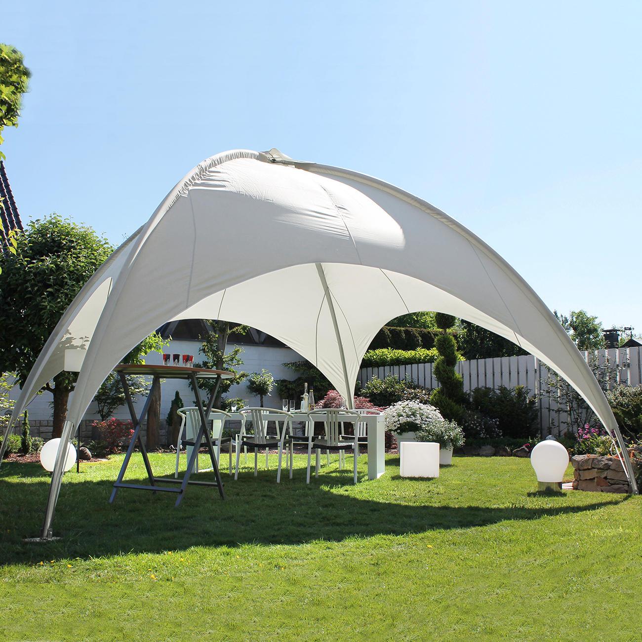 19 m kuppelpavillon 3 jahre garantie pro idee. Black Bedroom Furniture Sets. Home Design Ideas