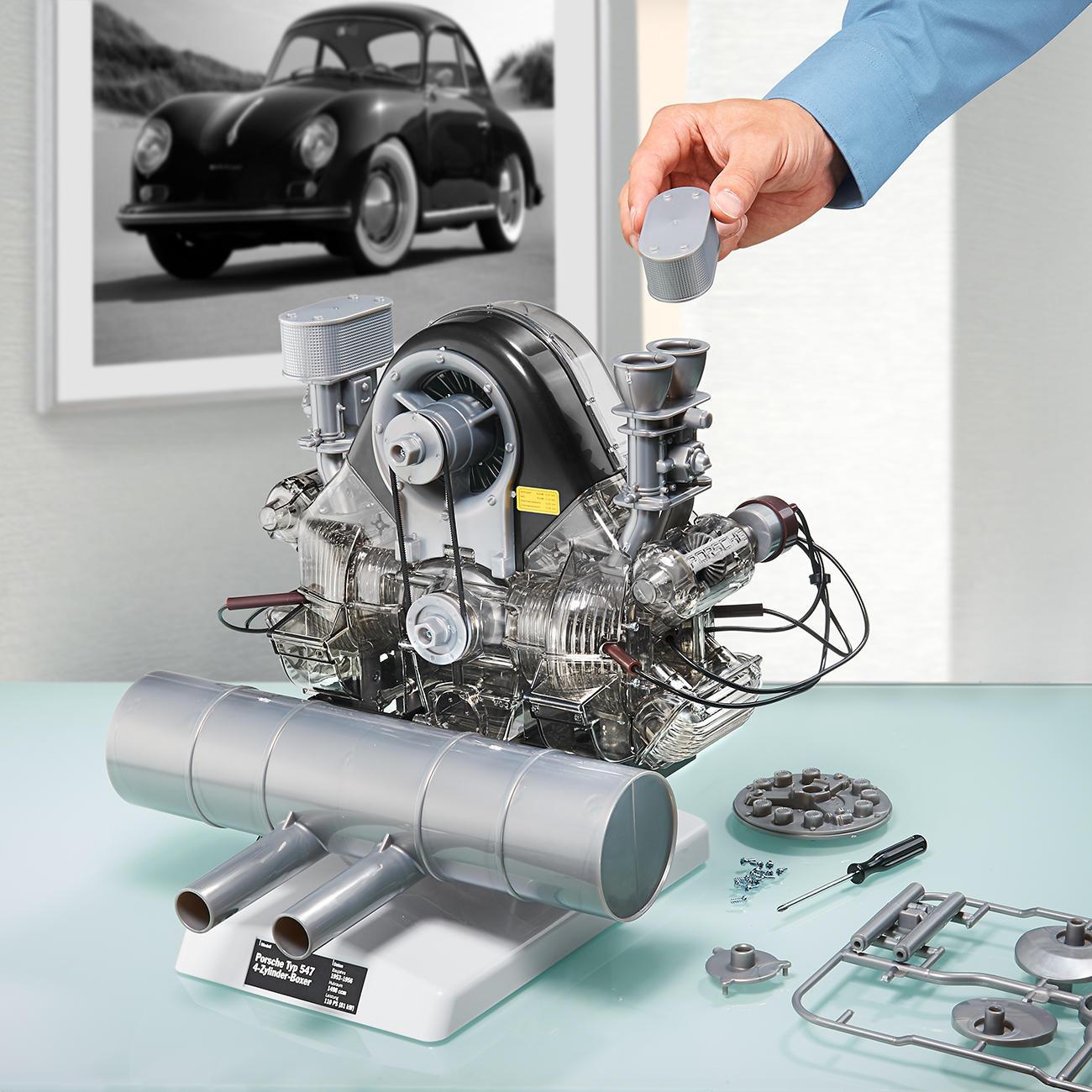 porsche motor bausatz