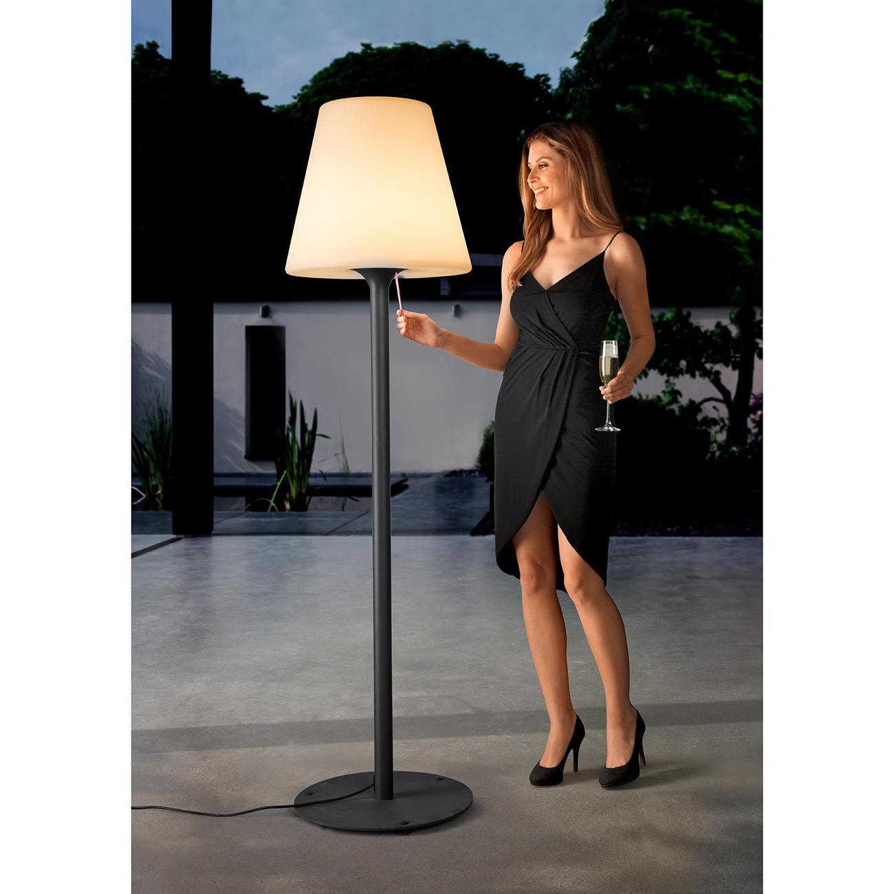 Lumisky 303235 Pro Stehlampe Xxl Outdoor Leuchte 187 Cm Weiss