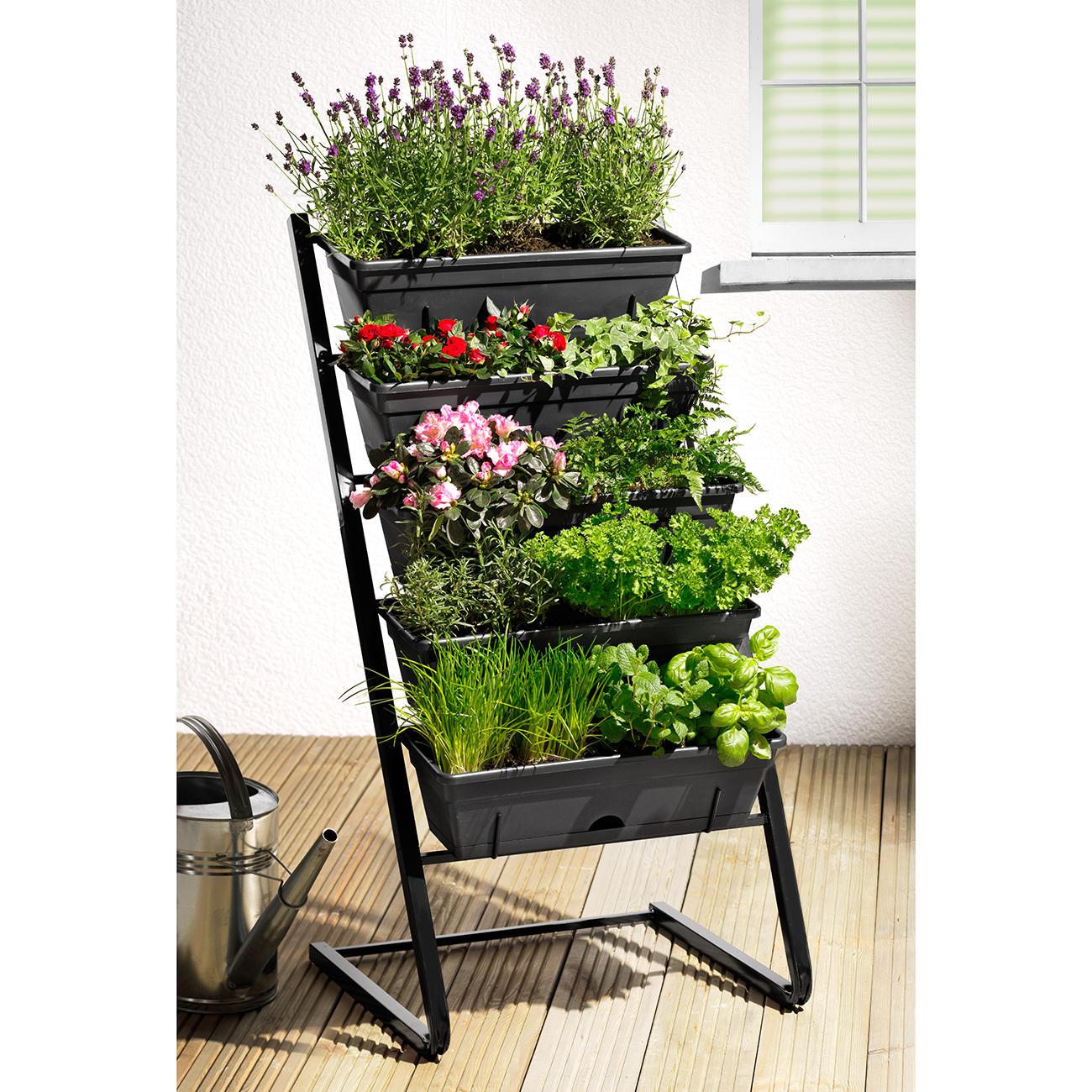 pflanztreppe 3 jahre garantie pro idee. Black Bedroom Furniture Sets. Home Design Ideas