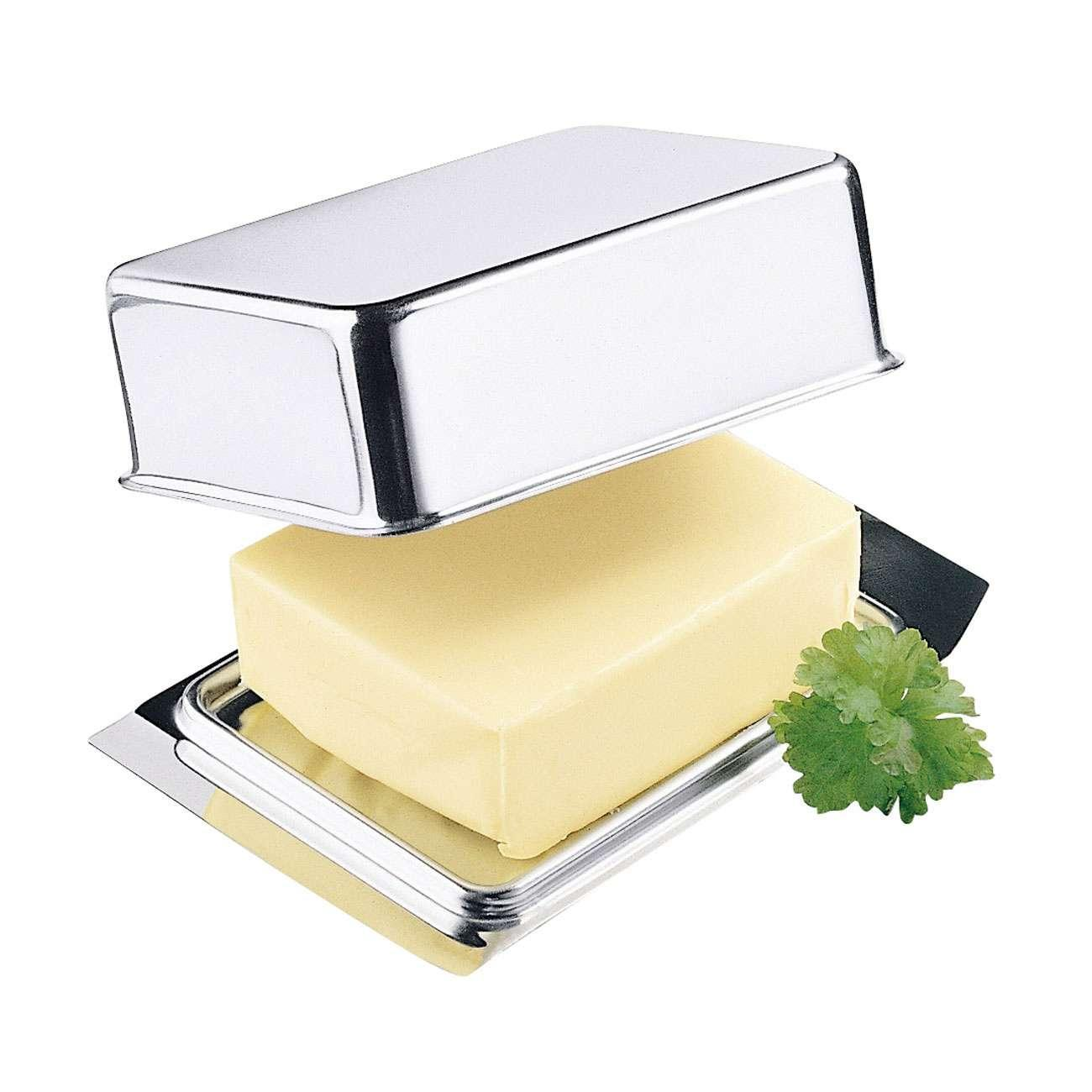 K/ühlschrankbutterdose Butterdose weiss