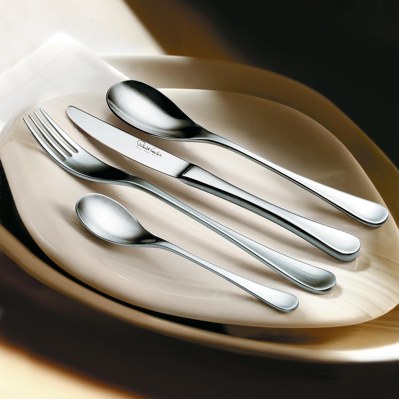 Robert welch rw ii buttermesser satiniert online kaufen for Besteck tisch