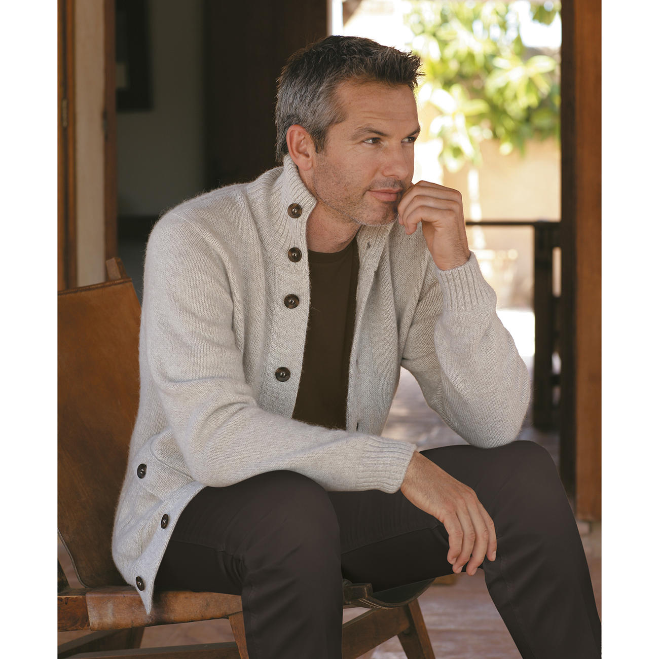 Outlet-Verkauf Veröffentlichungsdatum: Bestseller einkaufen Royal-Alpaka Strickjacke   Mode-Klassiker entdecken