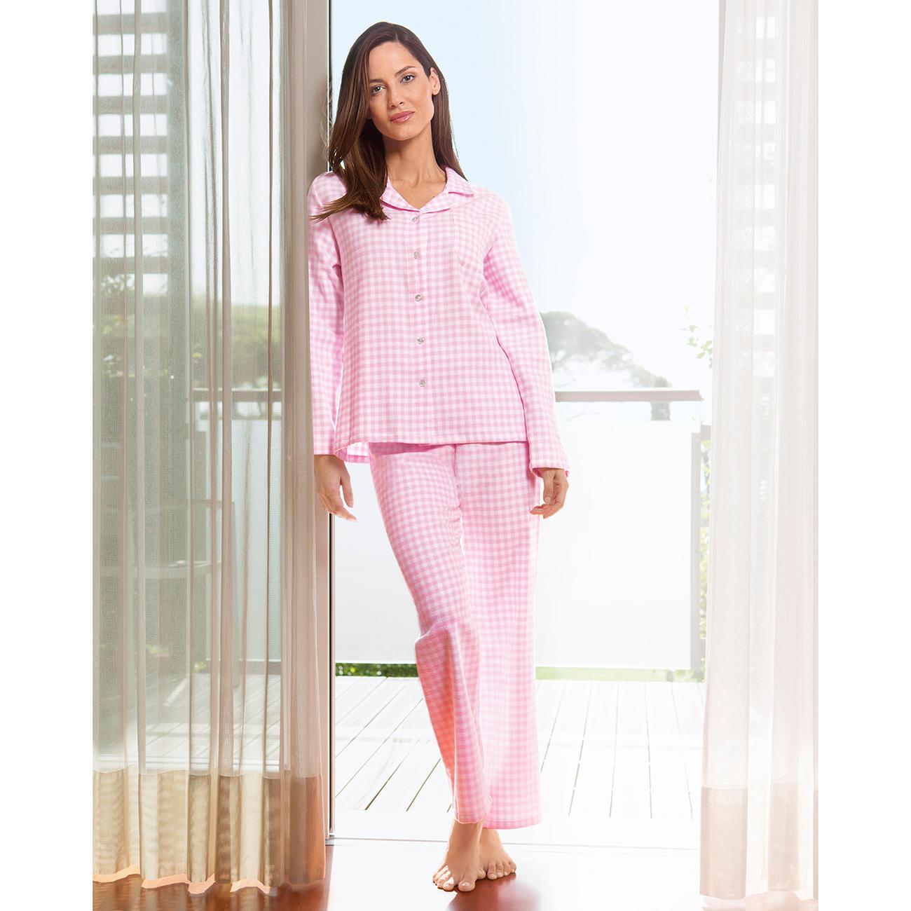 buy popular 00603 62690 NOVILA Flanell-Pyjama Vichykaro   Klassiker entdecken