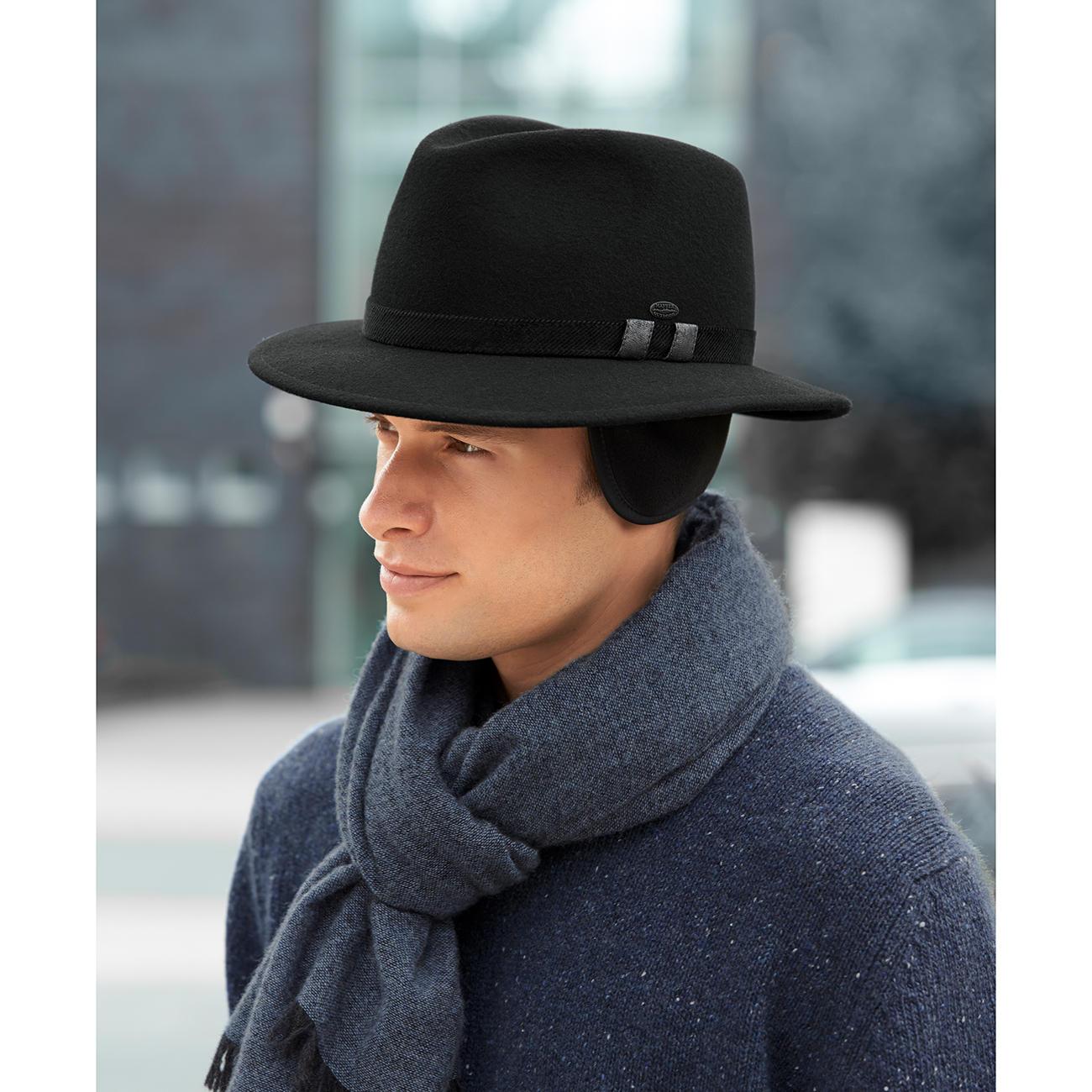 mayser winterhut mode klassiker entdecken  Neue Mayser Grau Hut Herren Outlet P 2104 #13
