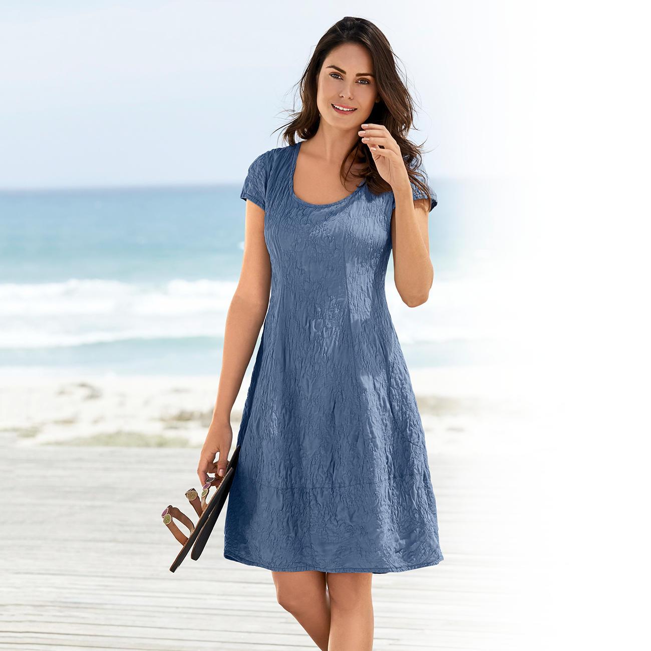Seidencrash Sommerkleid Mode Klassiker Entdecken