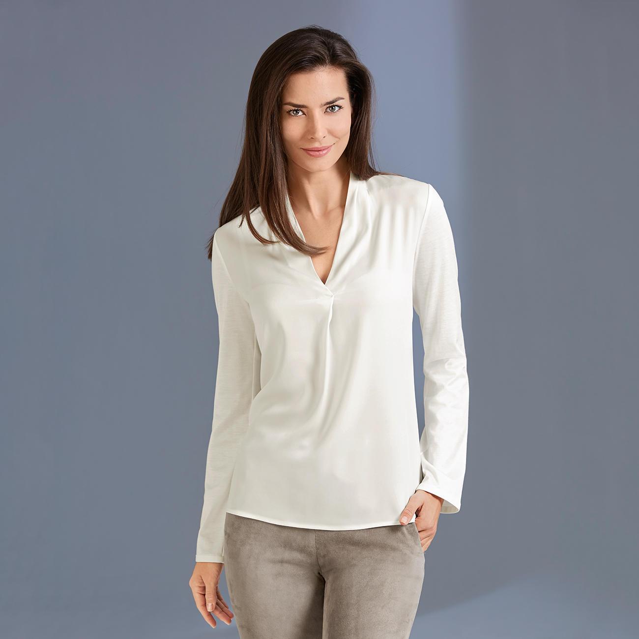 strenesse blusen shirt v ausschnitt entdecken. Black Bedroom Furniture Sets. Home Design Ideas