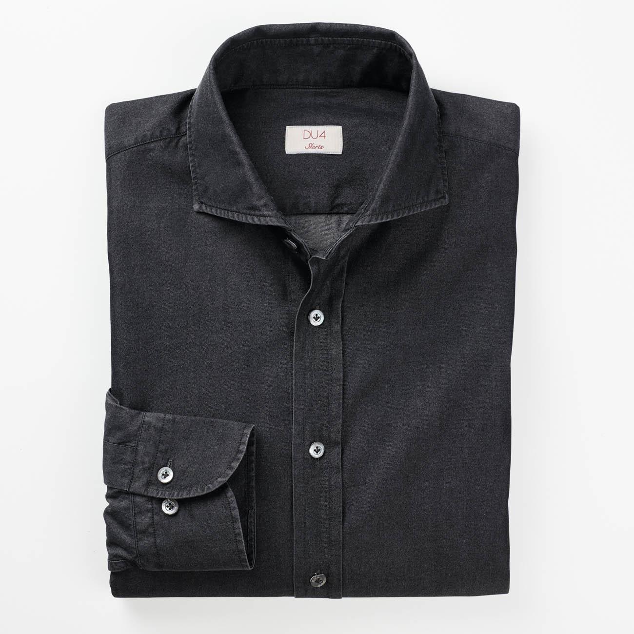 dufour edel jeanshemd mode klassiker entdecken. Black Bedroom Furniture Sets. Home Design Ideas