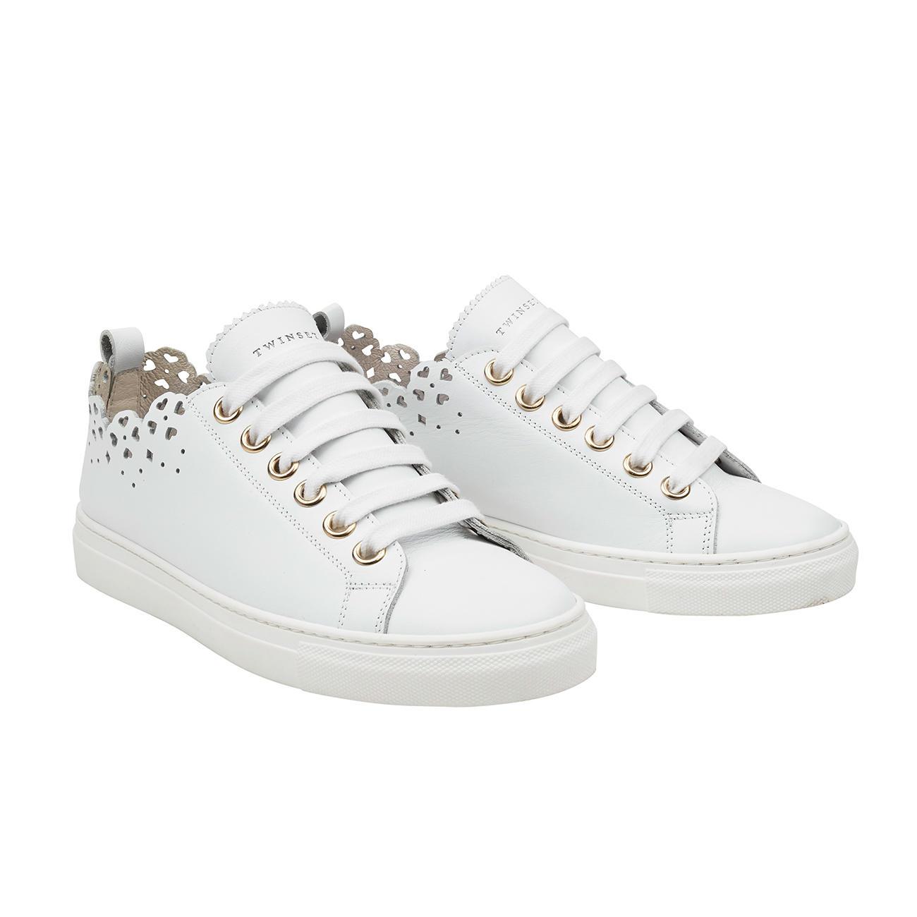 new concept 52b77 6b329 TWINSET Spitzen-Sneaker | Mode-Klassiker entdecken