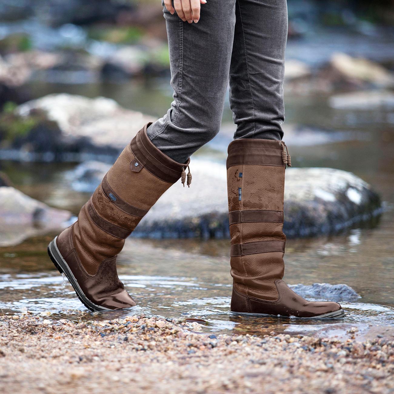 finest selection a941e f5827 Dubarry Wasserdichte Lederstiefel | Klassiker entdecken