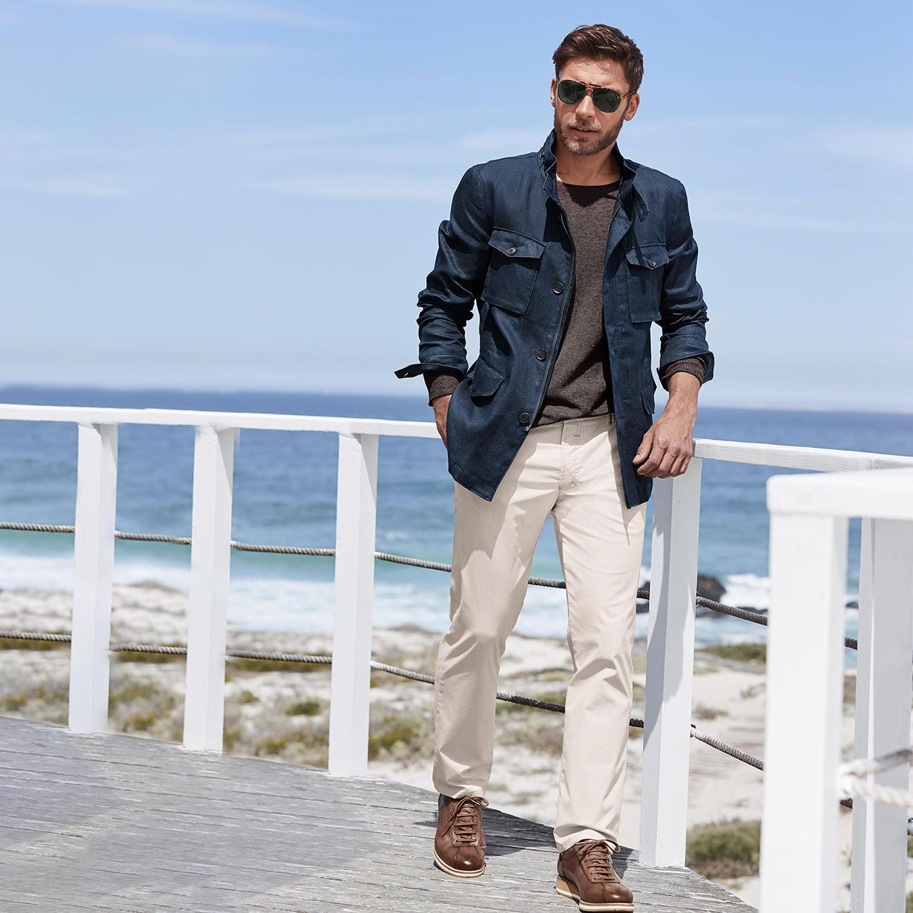 Leinen Wachsjacke | Mode Klassiker entdecken