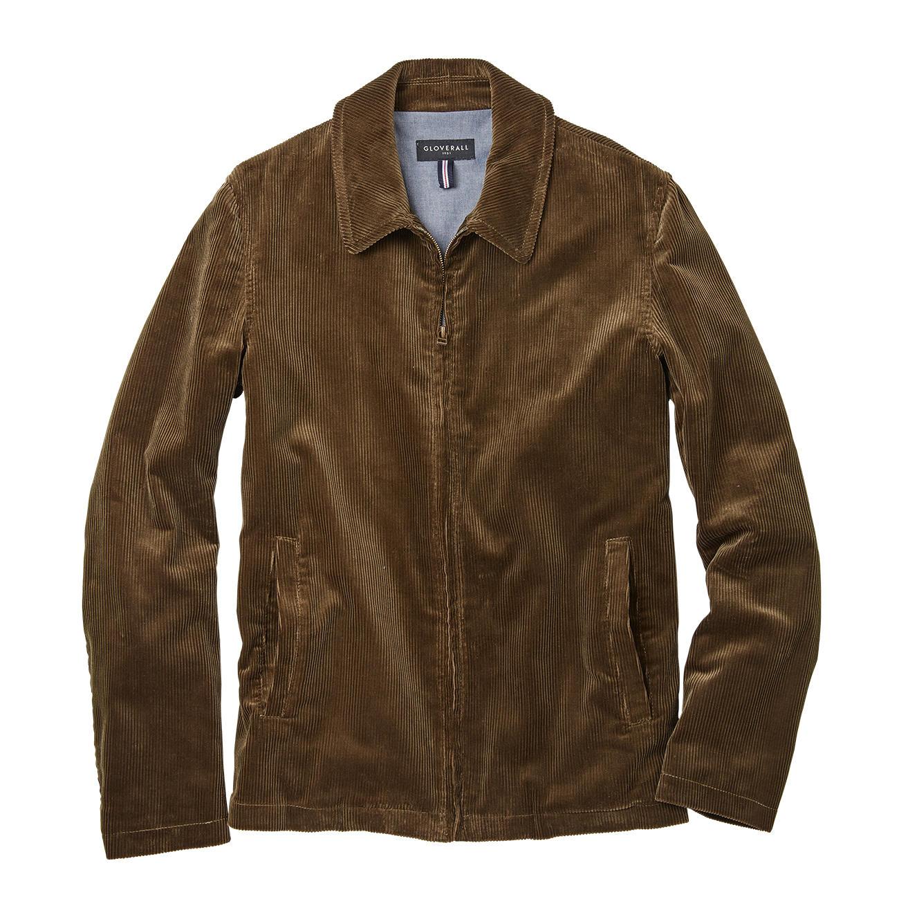 fbbb5d66d37078 Gloverall Harrington-Jacke - Kult-Klassiker Harrington-Jacke  jetzt  hochaktuell in Cord