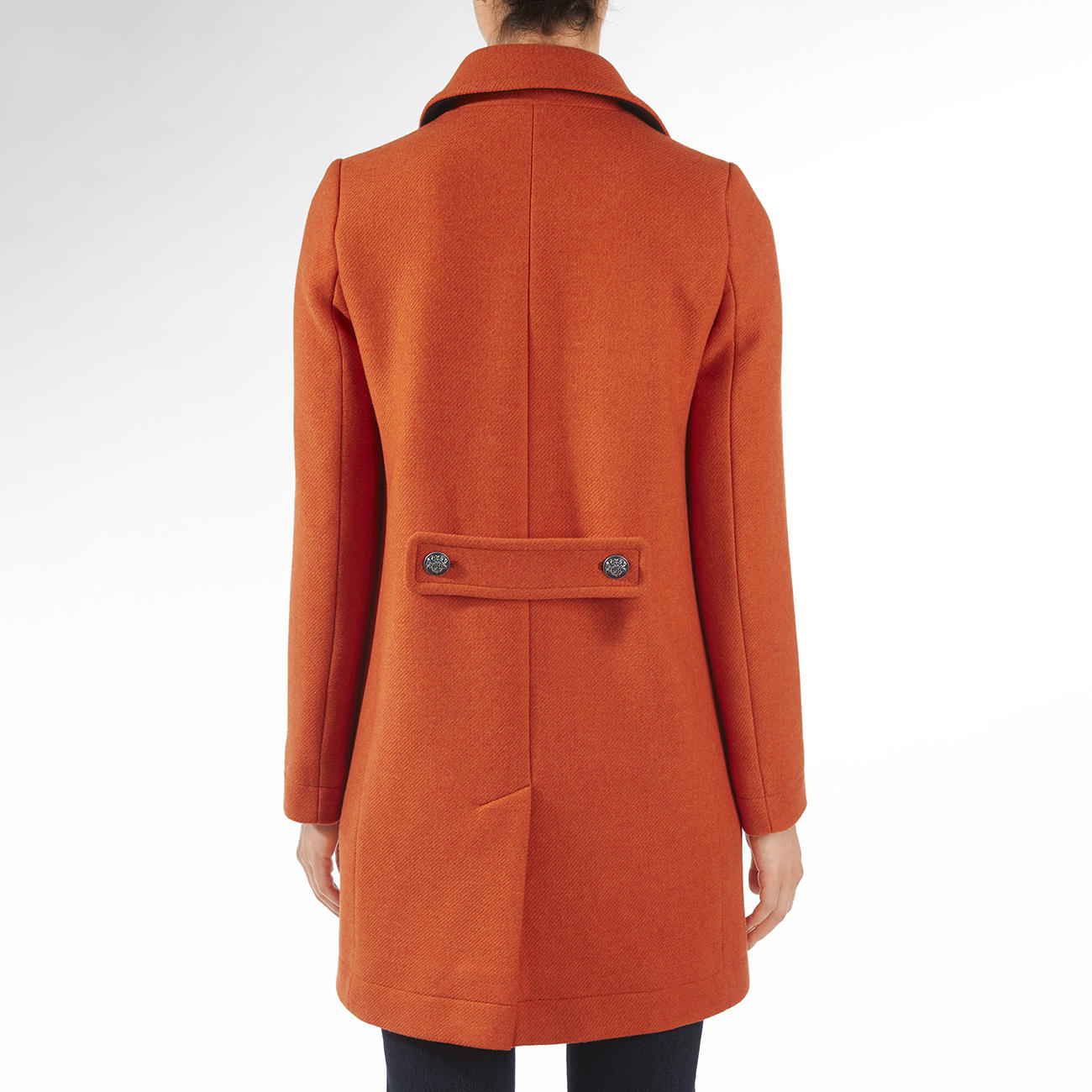 Saint James Caban Mantel   Trend Wollmantel. Modefarbe Orange. Und Doch  Potential Zum Klassiker.