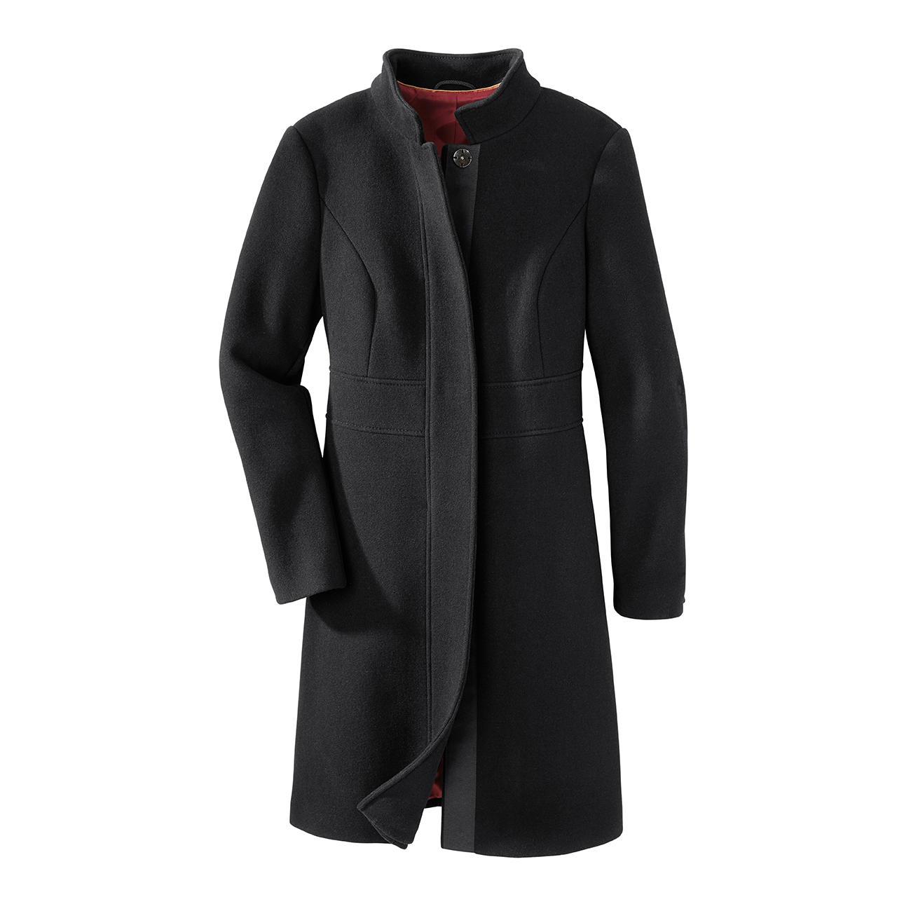 Black Basic Coat Der Perfekte Schwarze Basic Mantel Für 24 Stunden Am Tag