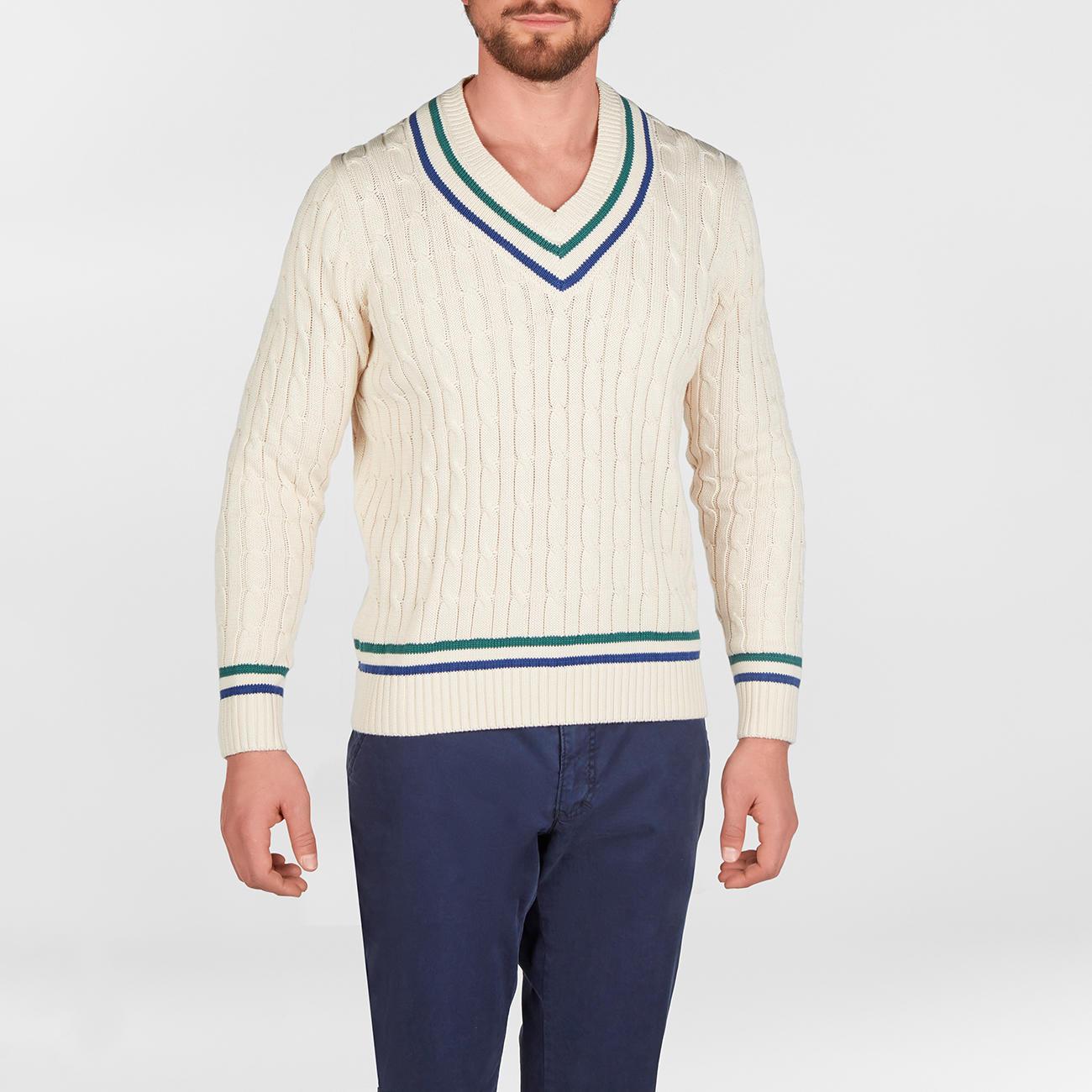 Cricket Pullover Herren