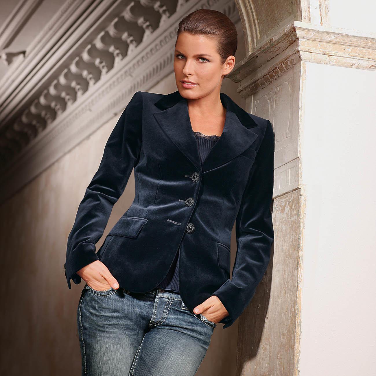 bester Wert an vorderster Front der Zeit riesige Auswahl an Waschbarer Samtblazer   Mode-Klassiker entdecken