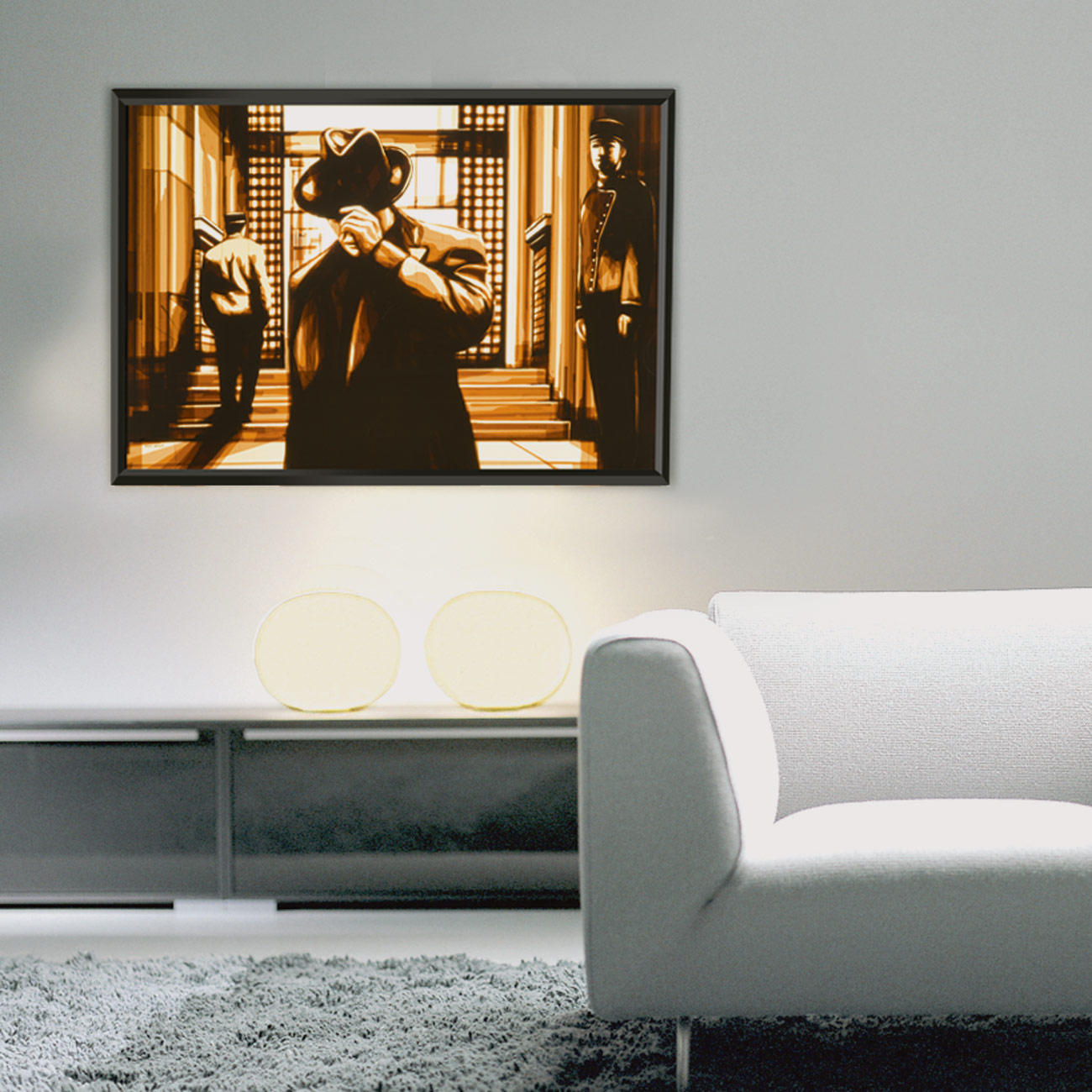 max zorn it has been a while kunst online kaufen. Black Bedroom Furniture Sets. Home Design Ideas