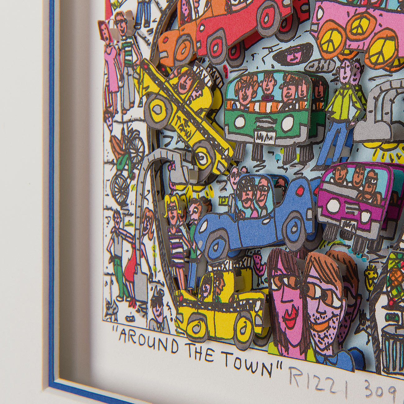 James Rizzi Around The Town Mit 3 Jahren Garantie