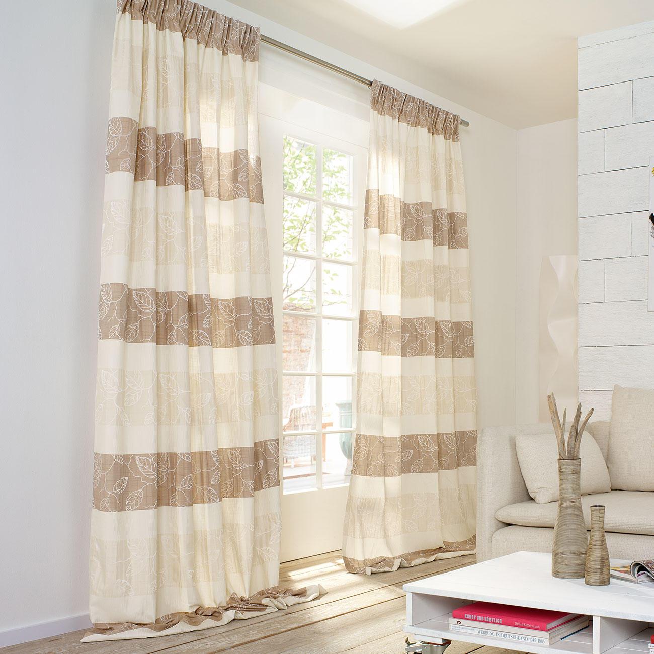 vorhang filo 1 vorhang 3 jahre garantie pro idee. Black Bedroom Furniture Sets. Home Design Ideas
