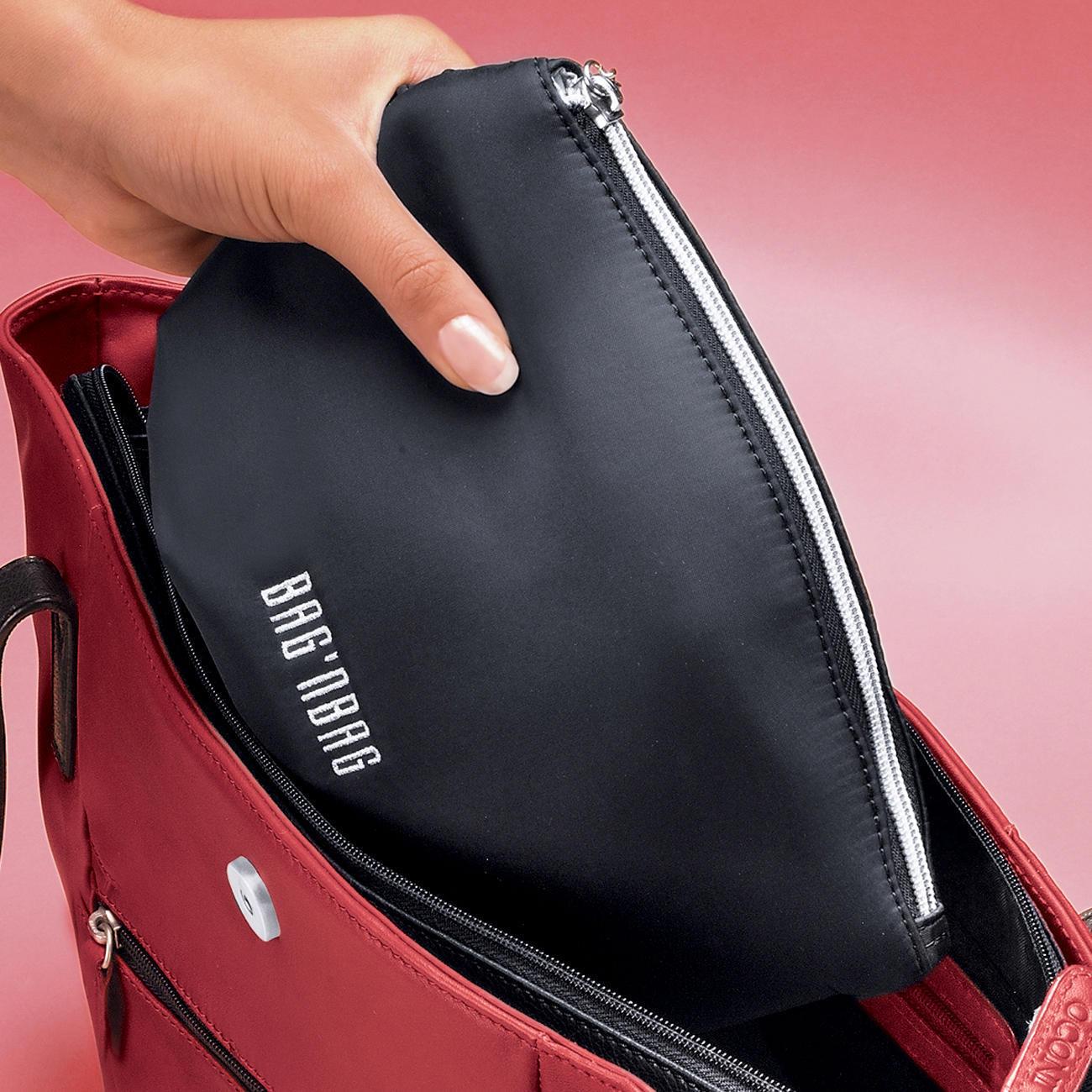 bodenschatz tasche bag 39 nbag klein schwarz online kaufen. Black Bedroom Furniture Sets. Home Design Ideas