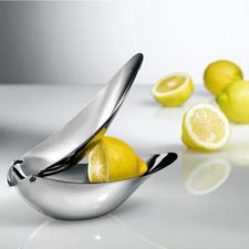 Design-Zitronenpresse - Preisgekröntes Design serviert frisch gepressten Zitronensaft stilvoll wie nie. Kein Spritzen, keine Kerne.